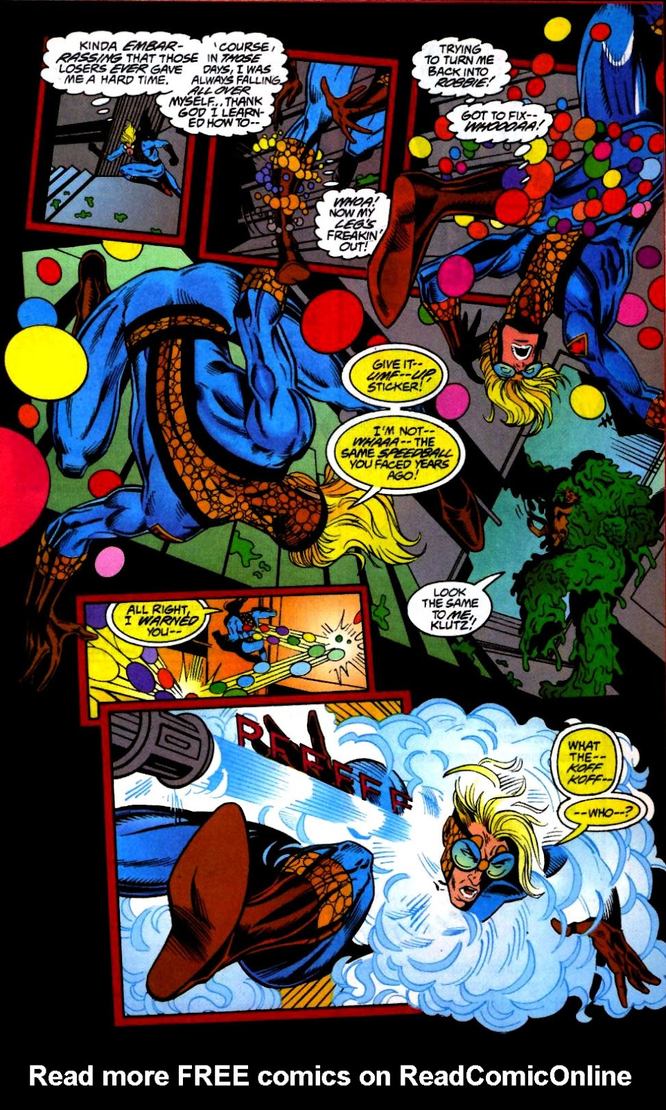 The New Warriors Issue #66 #70 - English 17