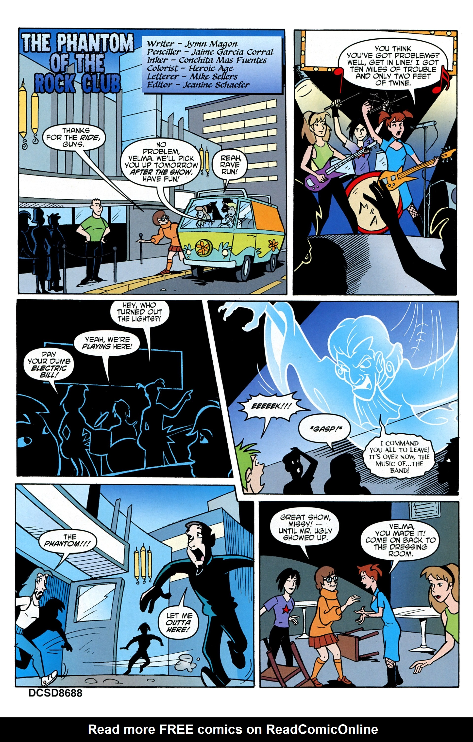 Read online Scooby-Doo: Where Are You? comic -  Issue #33 - 17