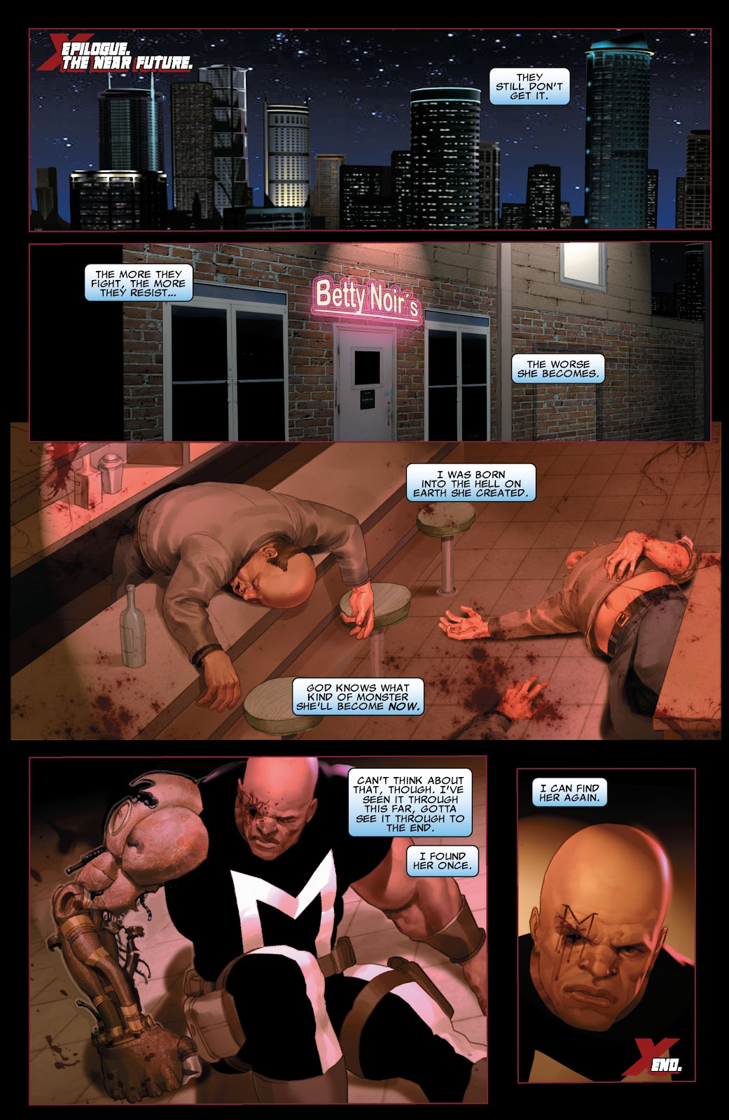 Read online X-Force/Cable: Messiah War comic -  Issue # _TPB (Part 2) - 143