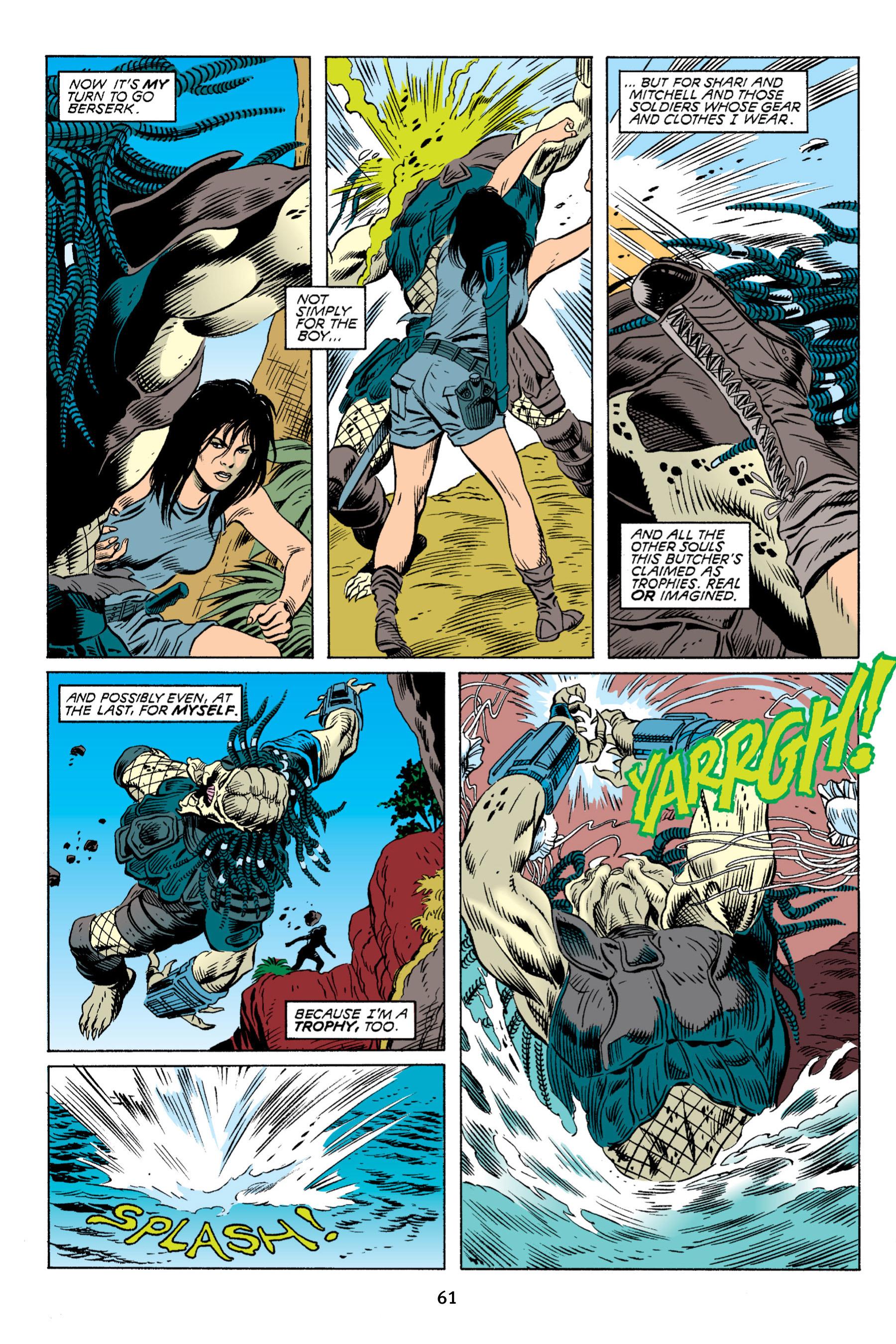 Read online Aliens vs. Predator Omnibus comic -  Issue # _TPB 2 Part 1 - 61