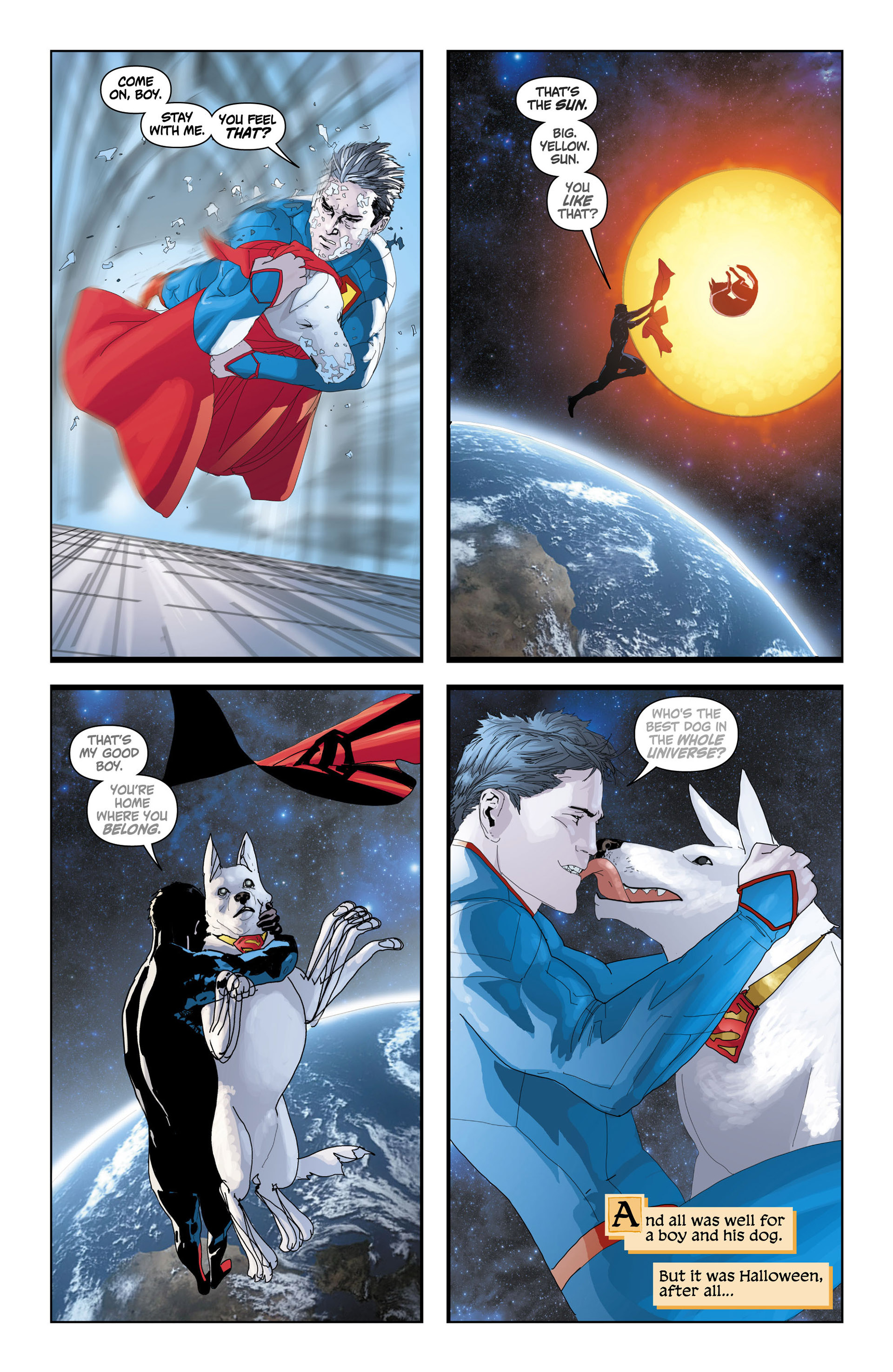 Read online Action Comics (2011) comic -  Issue #13 - 22