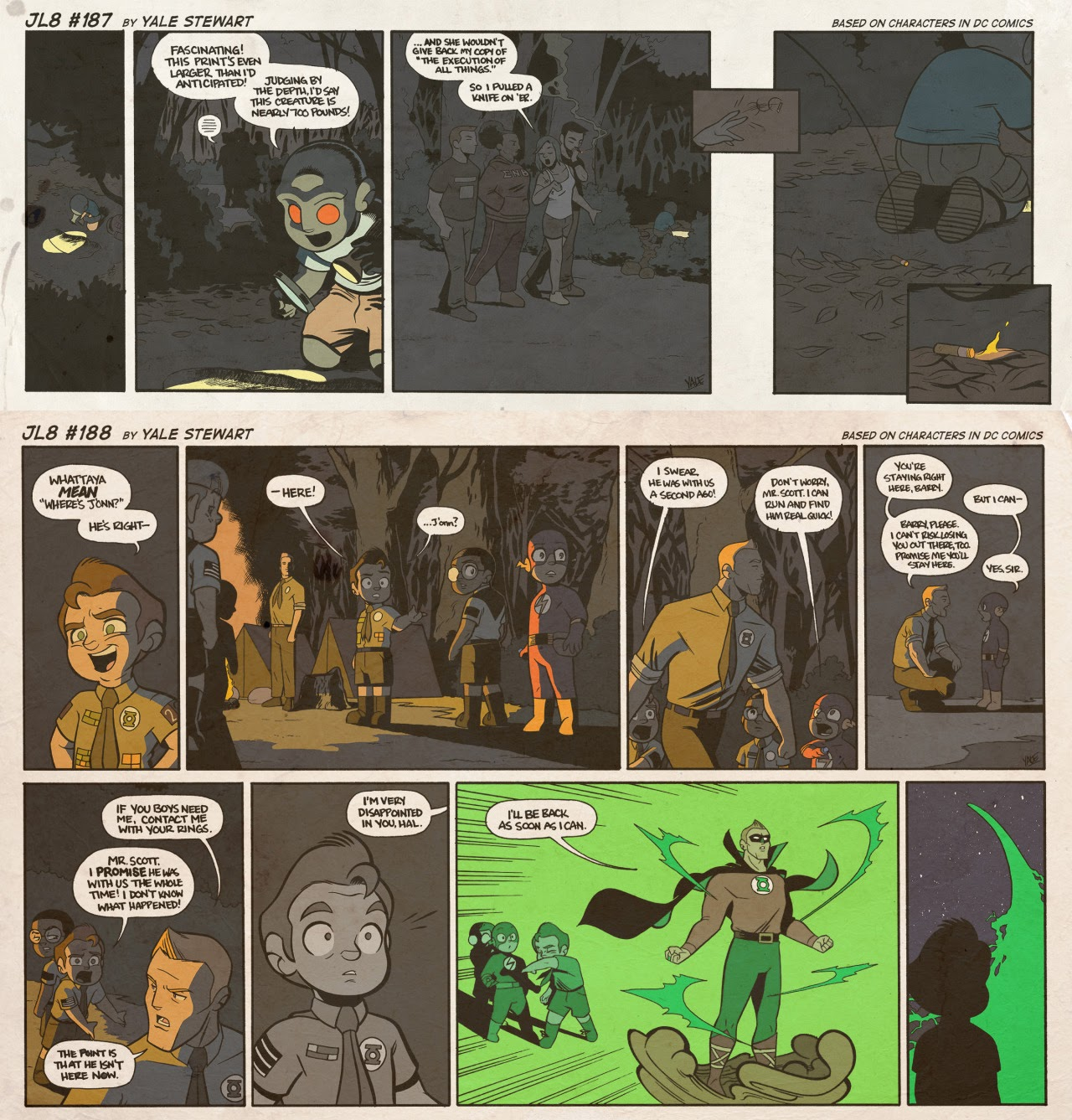 Read online JL8 – The Complete Collection comic -  Issue # TPB (Part 1) - 98