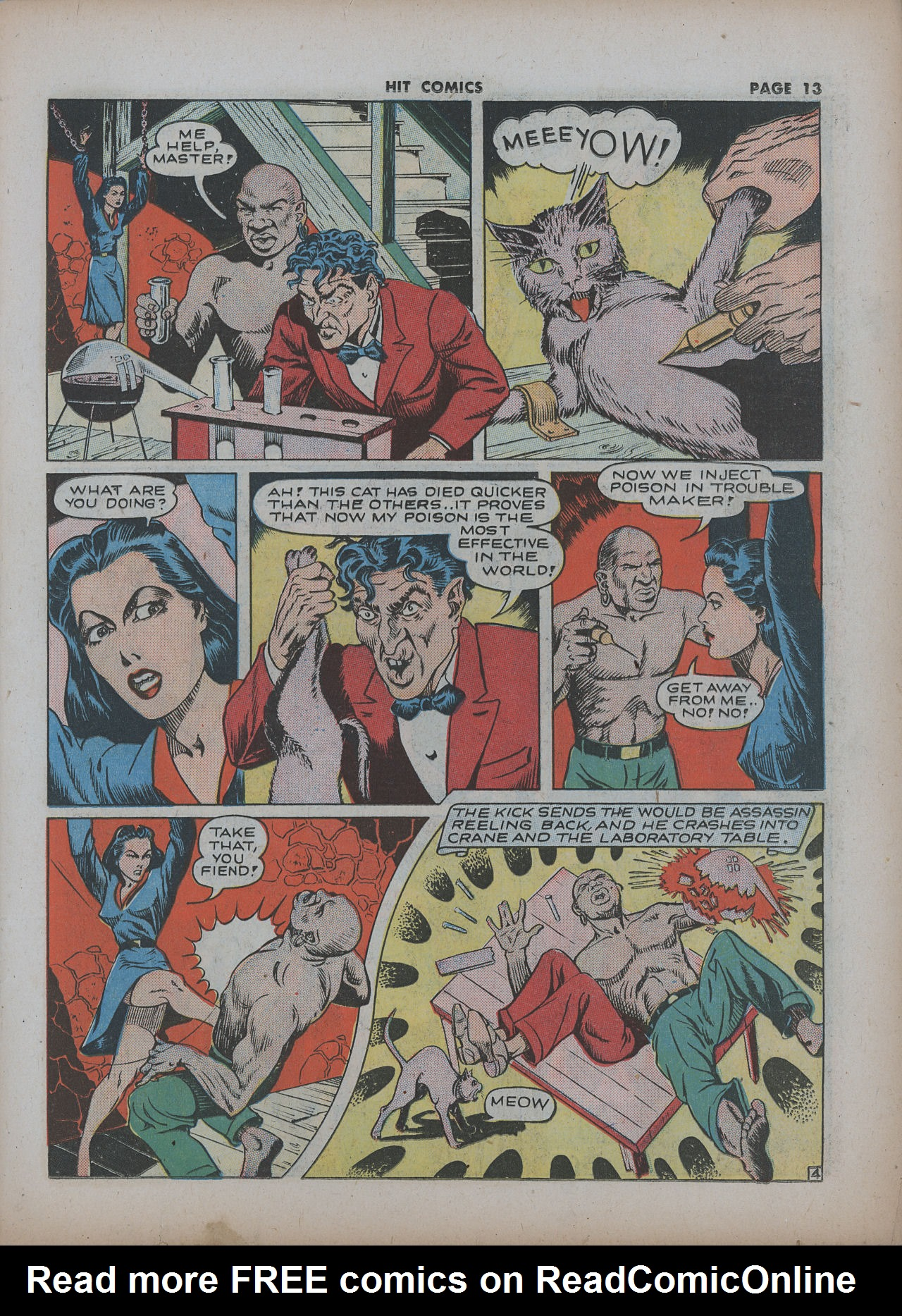 Read online Hit Comics comic -  Issue #22 - 15