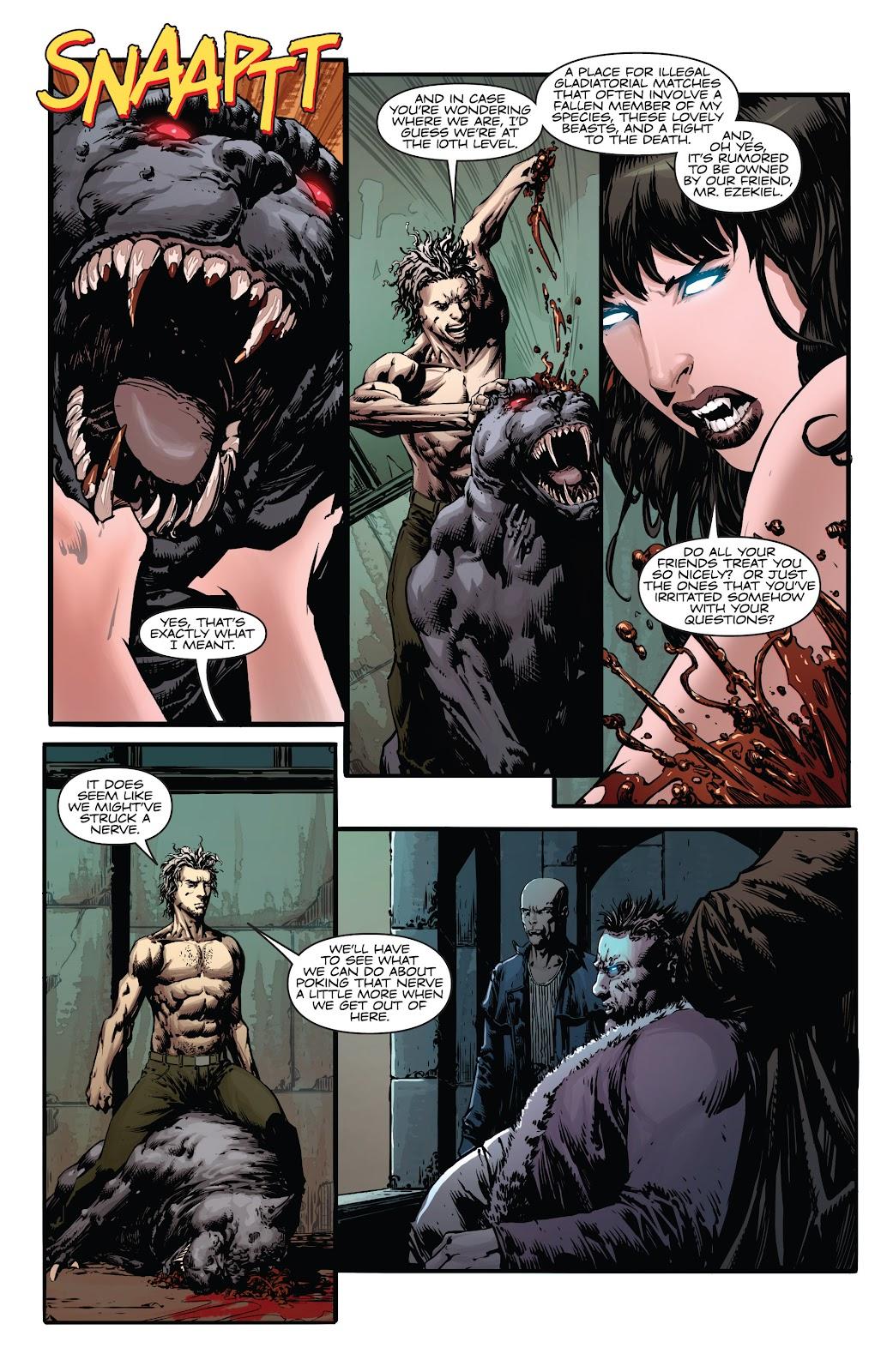 Read online Vampirella Strikes comic -  Issue #4 - 8