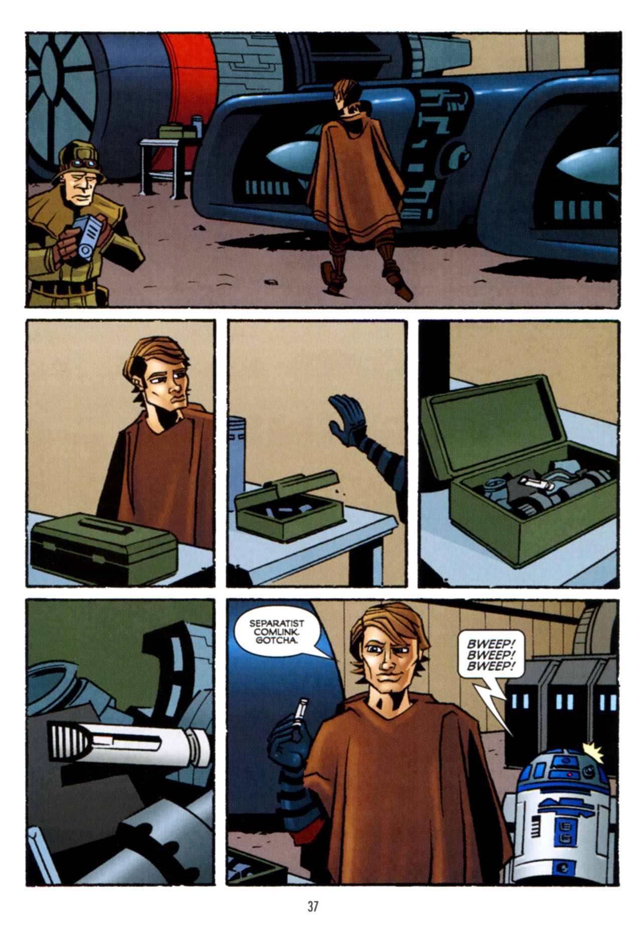 Read online Star Wars: The Clone Wars - Crash Course comic -  Issue # Full - 38