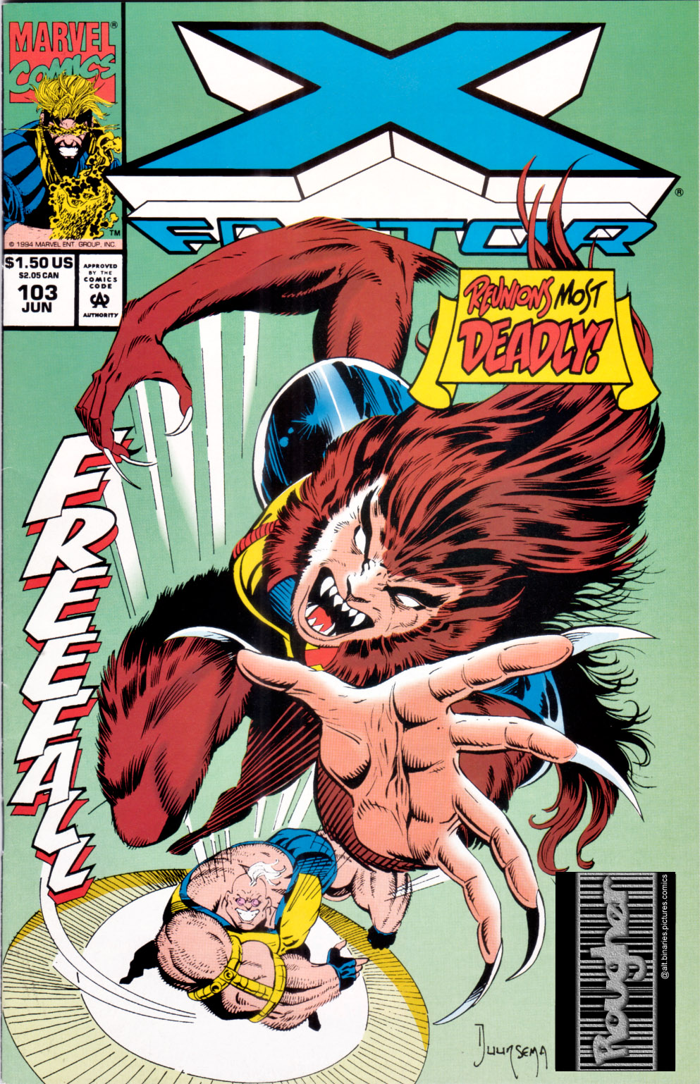 Read online X-Factor (1986) comic -  Issue #103 - 1