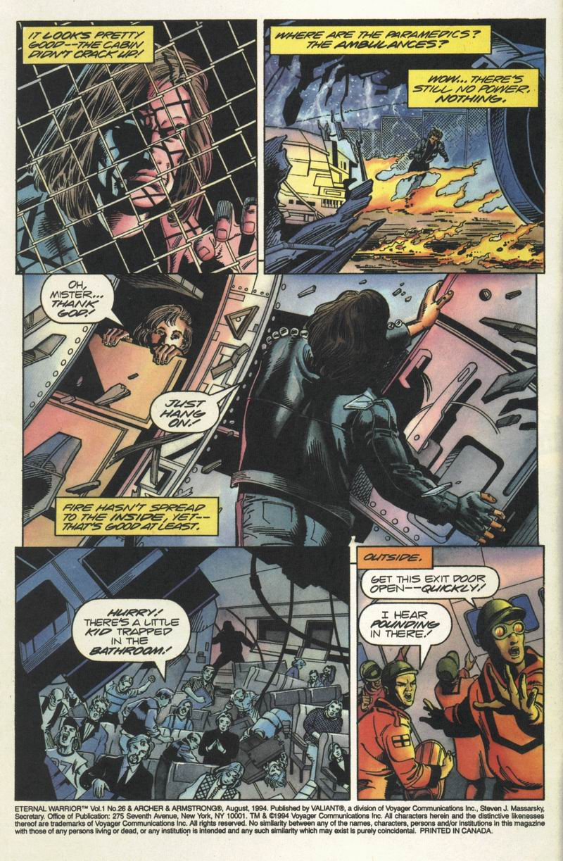 Read online Eternal Warrior (1992) comic -  Issue #26 - 3