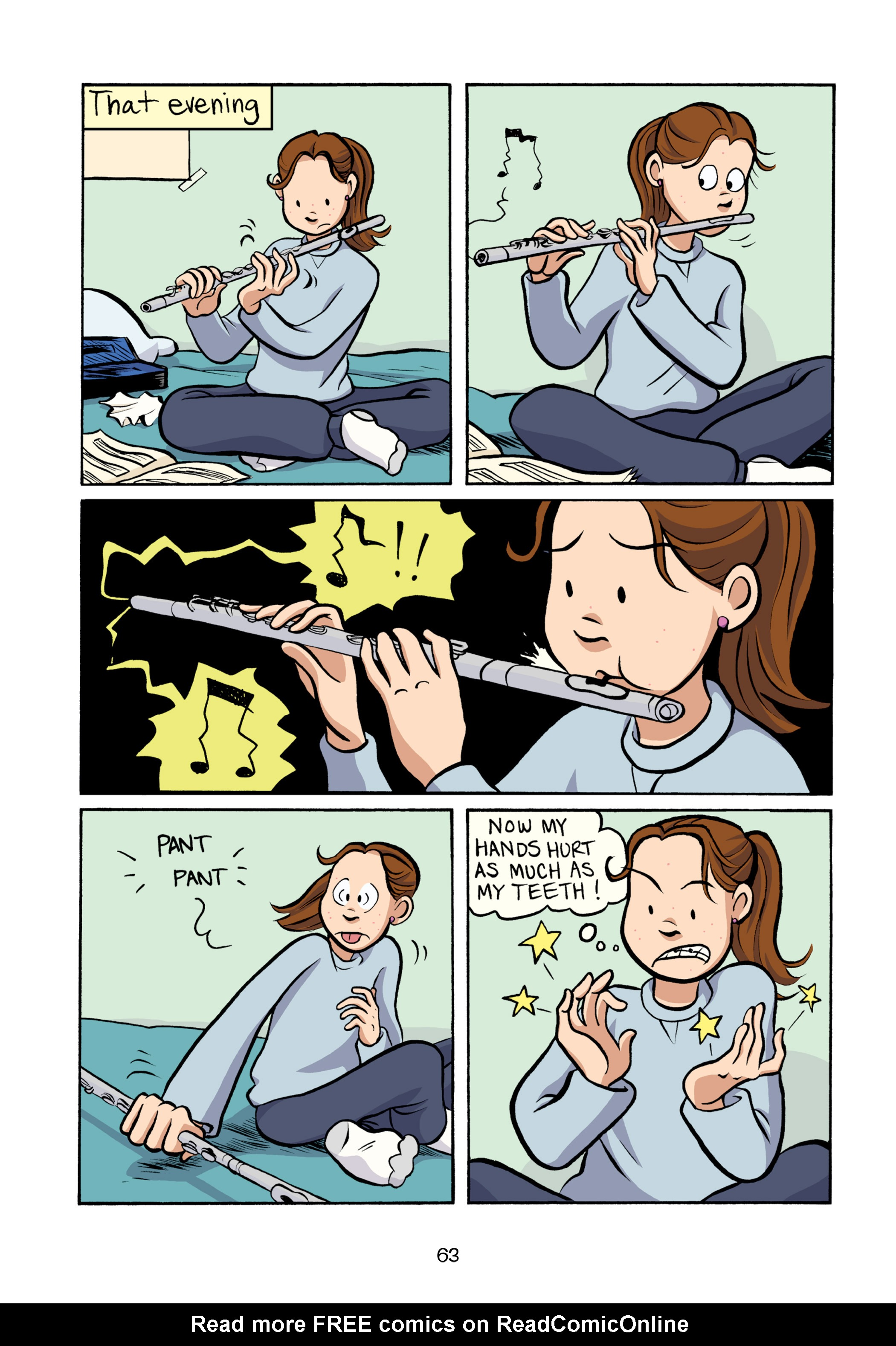 Read online Smile comic -  Issue # TPB - 69