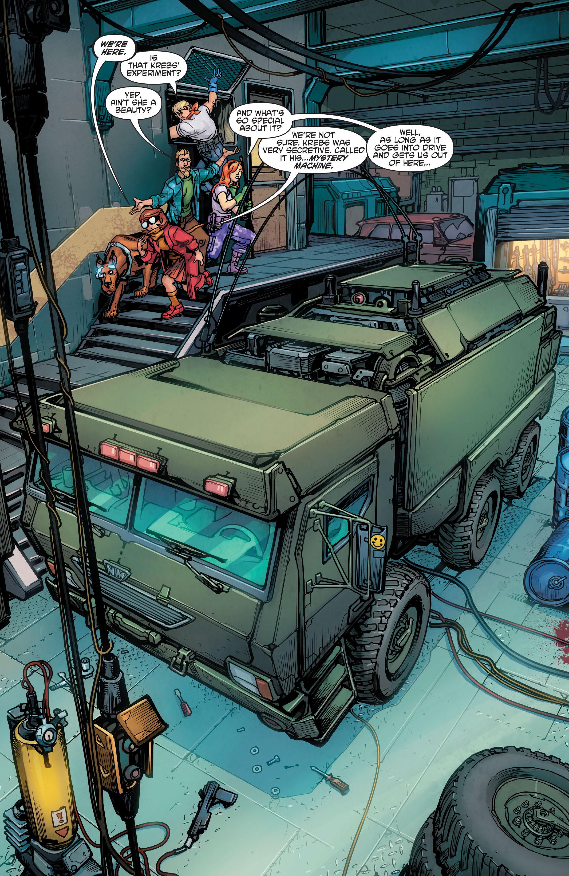 Read online Scooby Apocalypse comic -  Issue #2 - 23