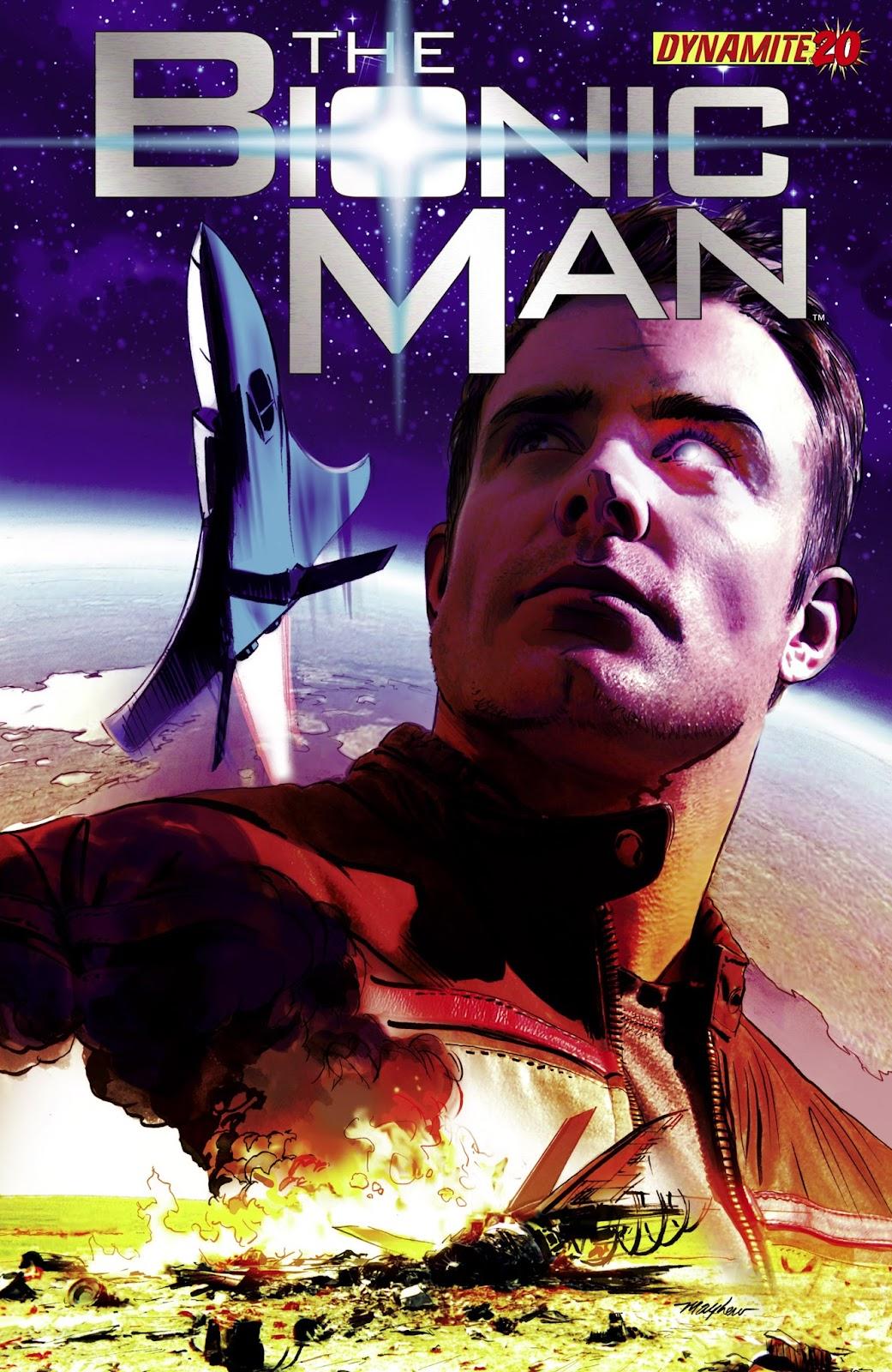 Bionic Man 20 Page 1