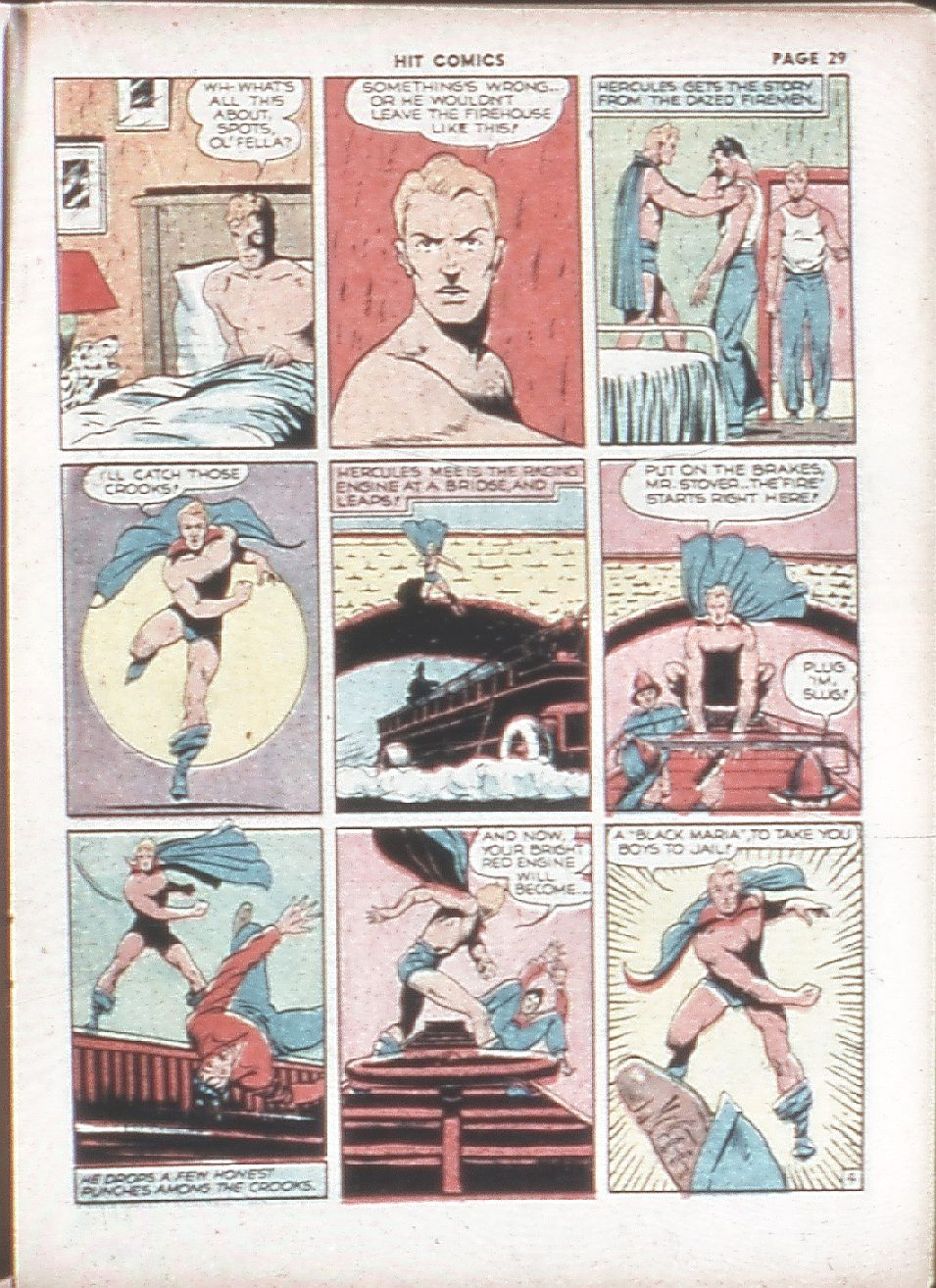 Read online Hit Comics comic -  Issue #7 - 31