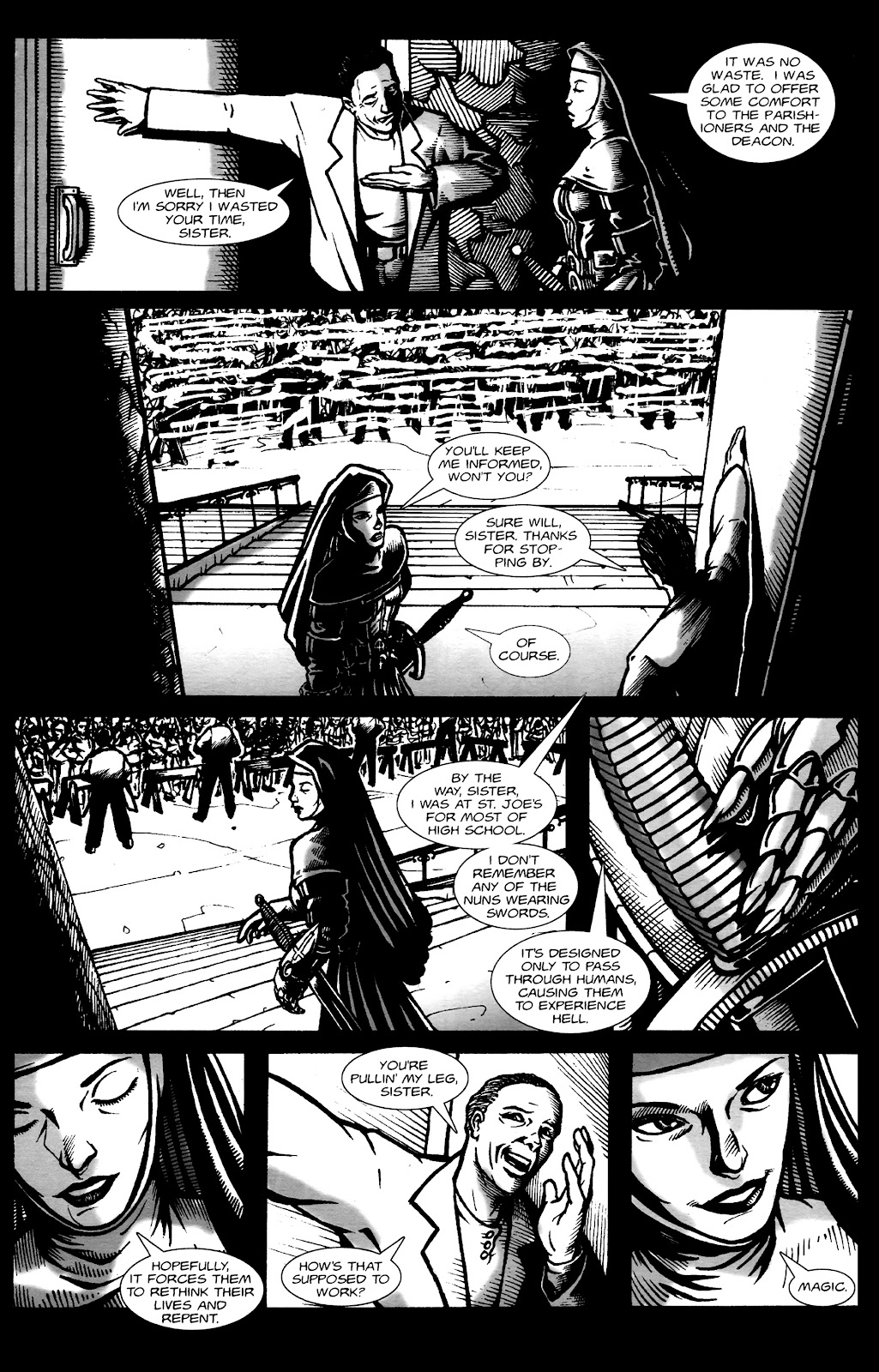 Warrior Nun Areala:  Dangerous Game Issue #1 #1 - English 27