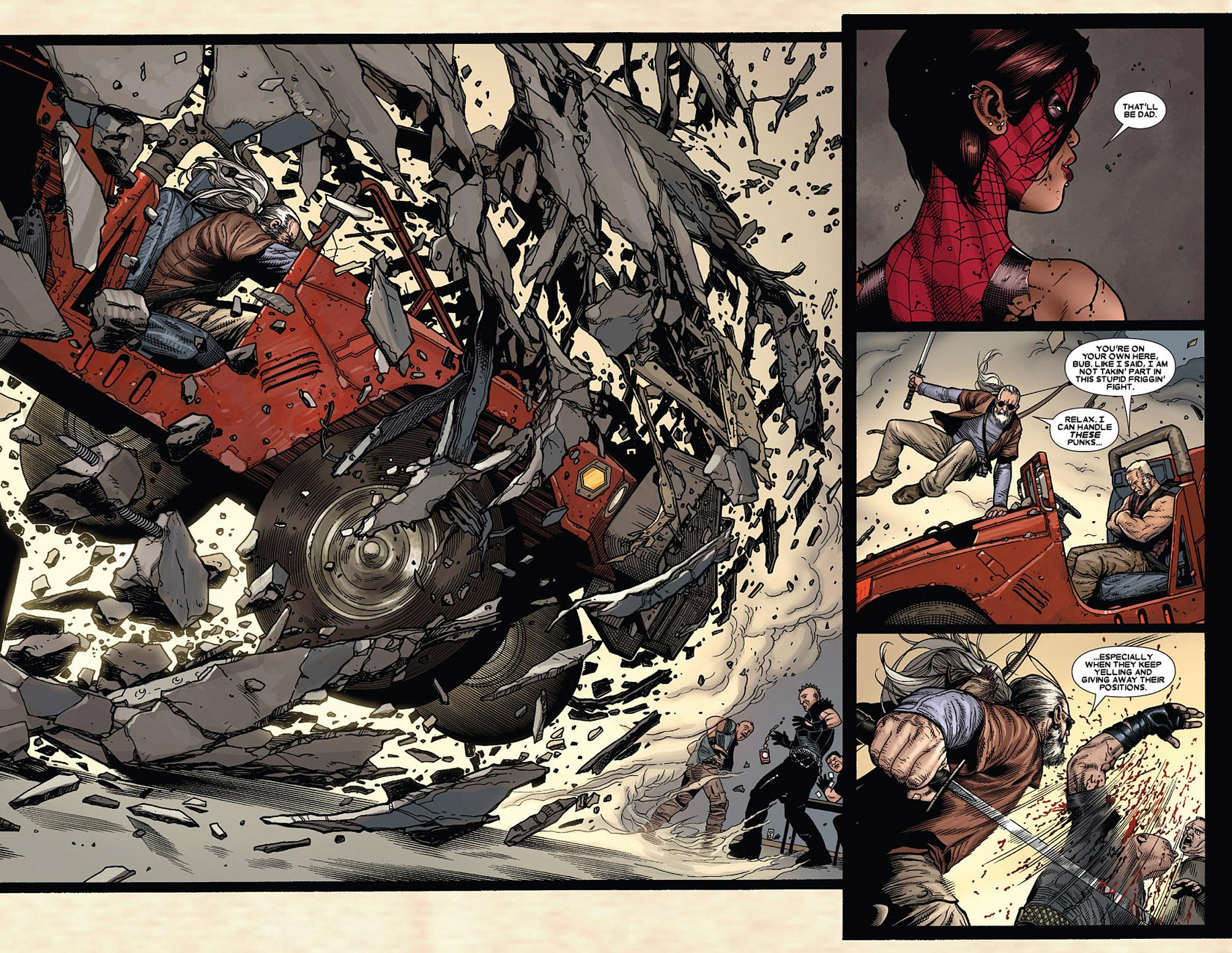 Read online Wolverine: Old Man Logan comic -  Issue # Full - 64