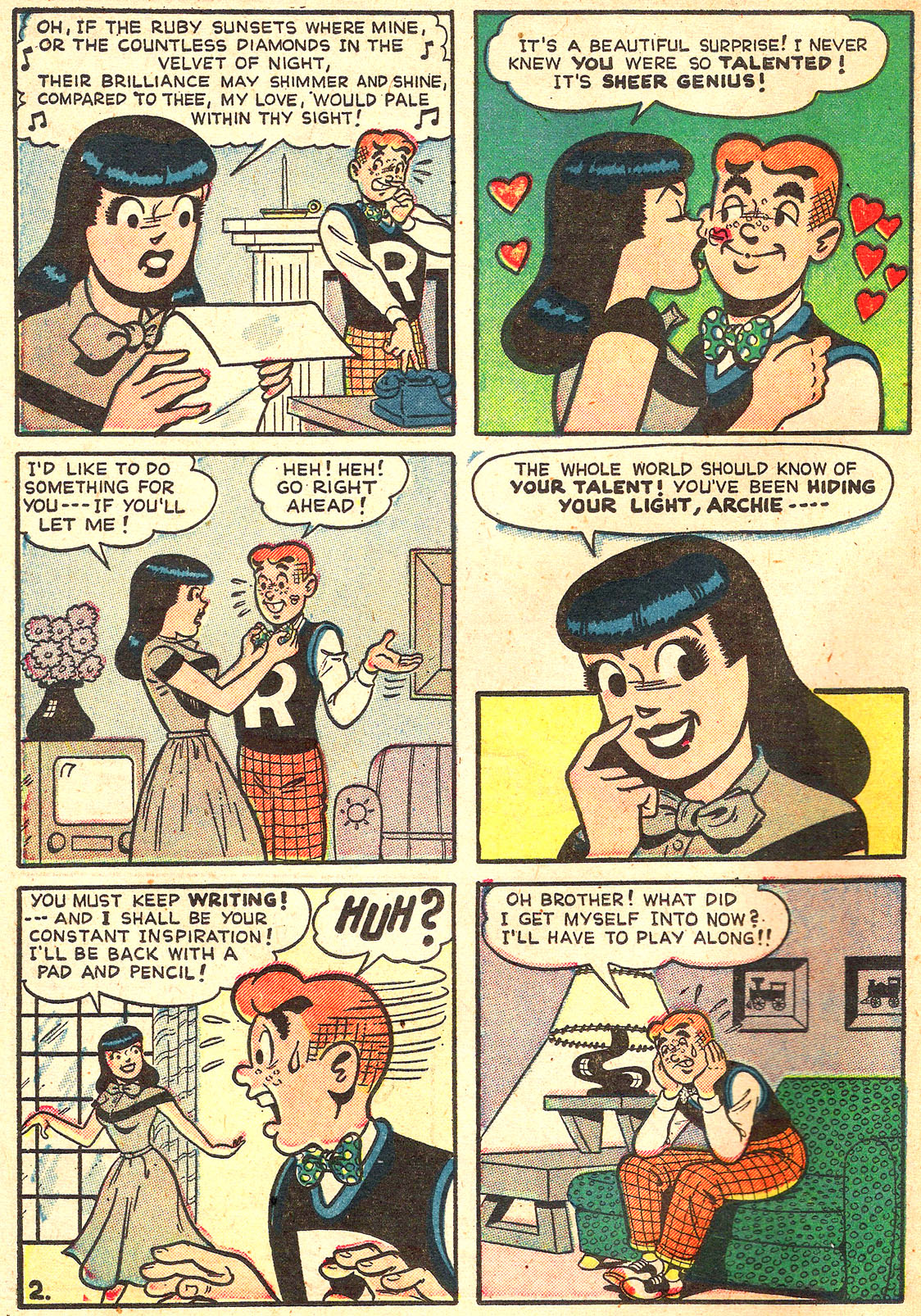 Read online Archie's Girls Betty and Veronica comic -  Issue #Archie's Girls Betty and Veronica Annual 1 - 40