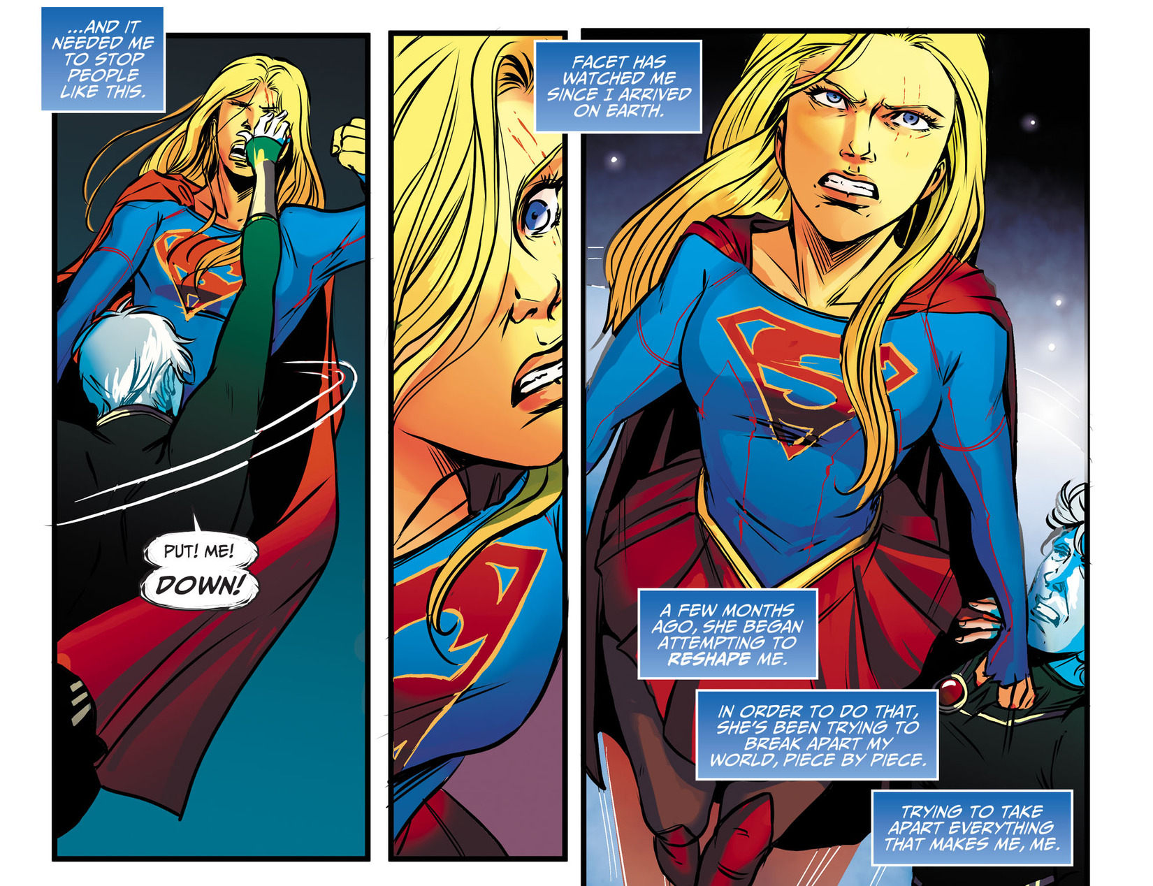 Read online Adventures of Supergirl comic -  Issue #13 - 4