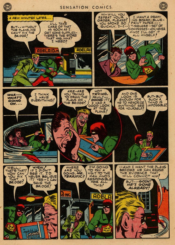 Read online Sensation (Mystery) Comics comic -  Issue #36 - 38