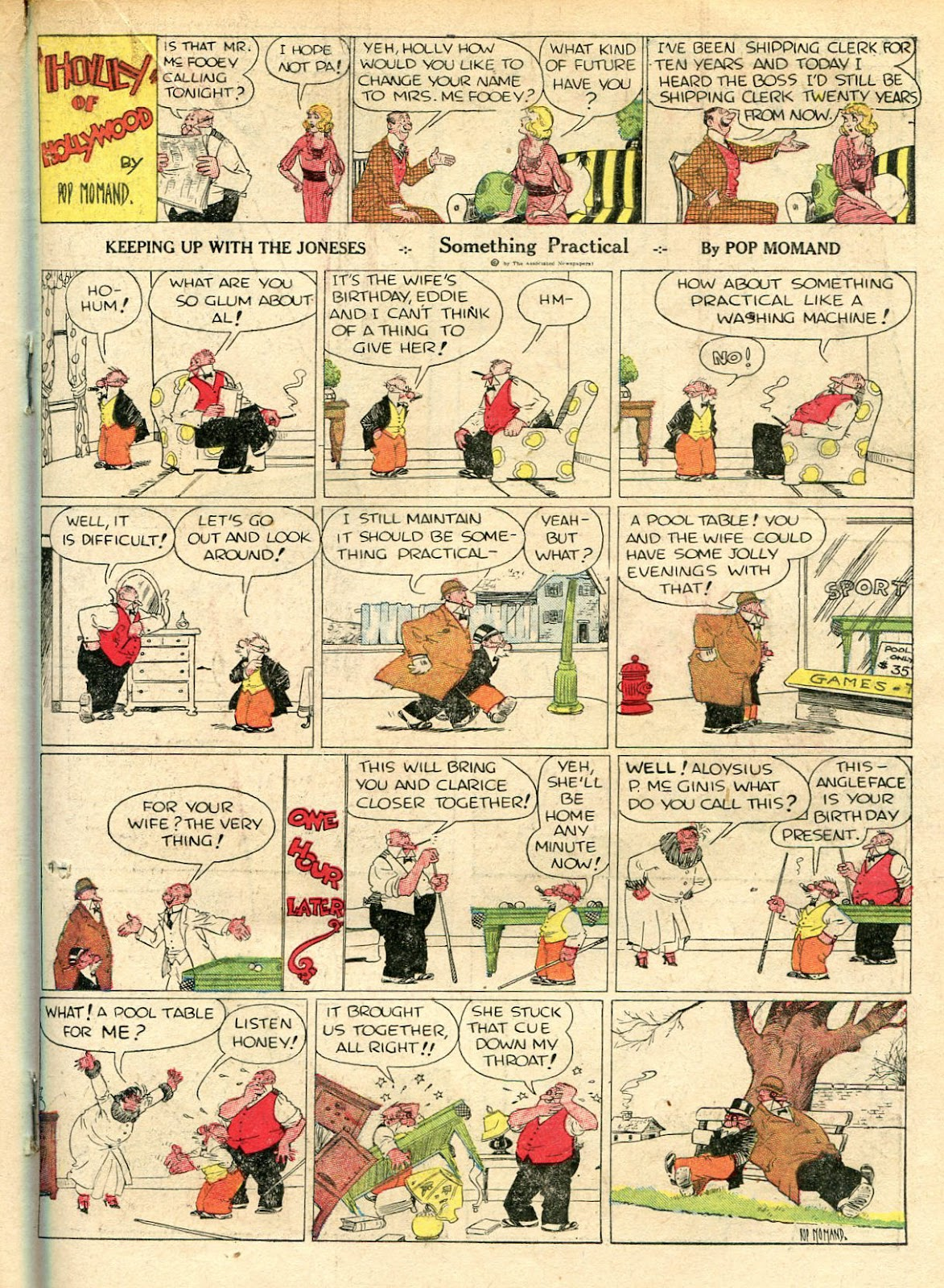 Read online Famous Funnies comic -  Issue #33 - 35