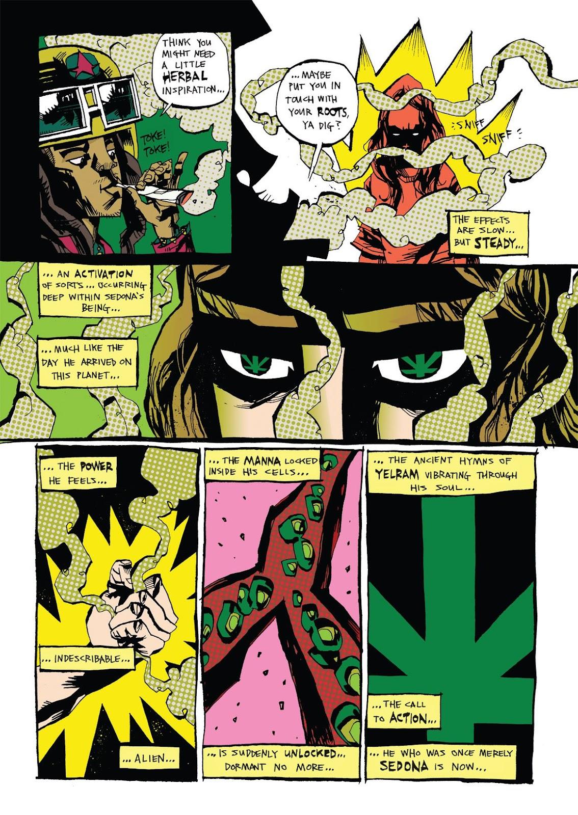 Read online Marijuanaman comic -  Issue # Full - 16