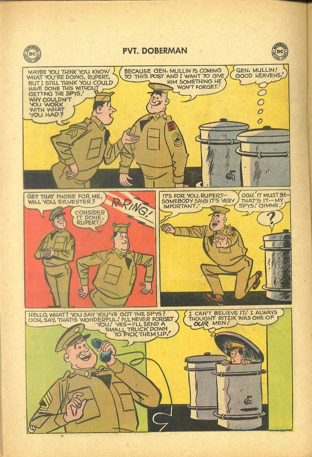 Sgt. Bilko's Pvt. Doberman issue 1 - Page 20