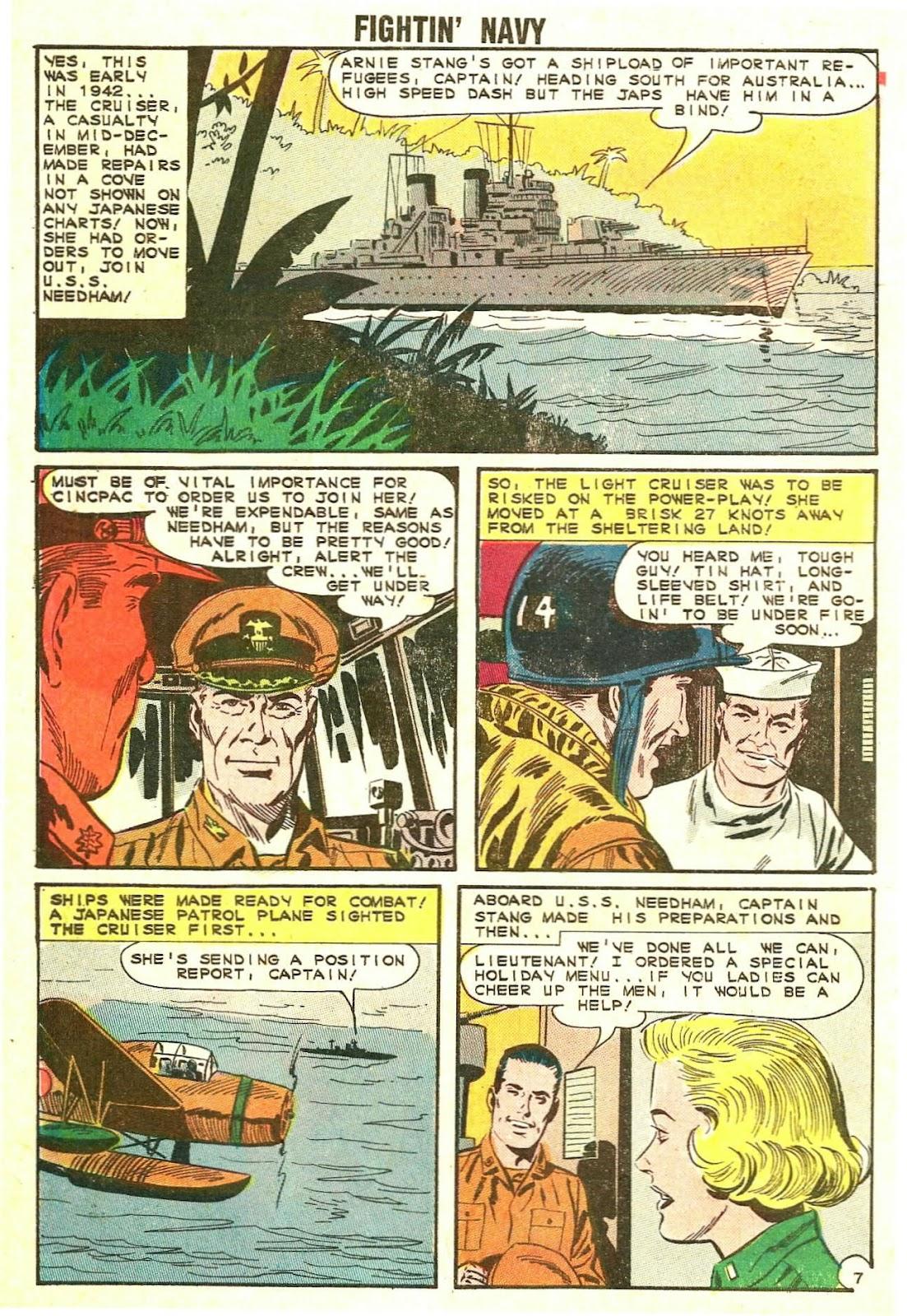 Read online Fightin' Navy comic -  Issue #114 - 10