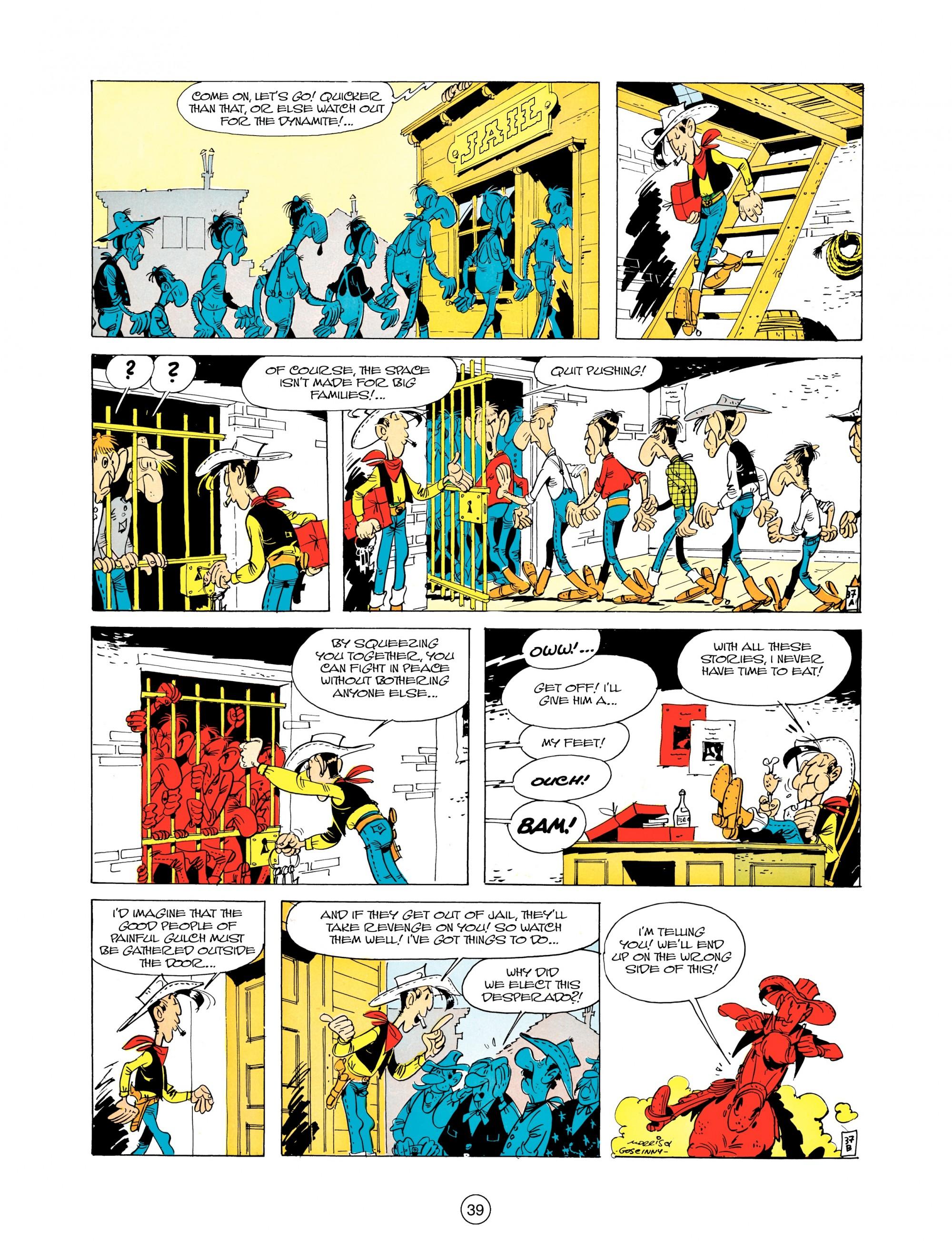 Read online A Lucky Luke Adventure comic -  Issue #12 - 39
