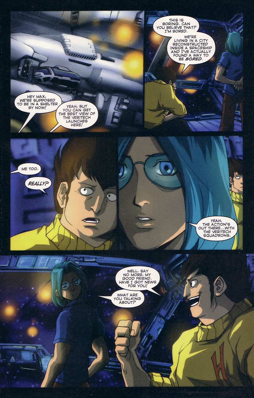Read online Robotech: Love and War comic -  Issue #2 - 16