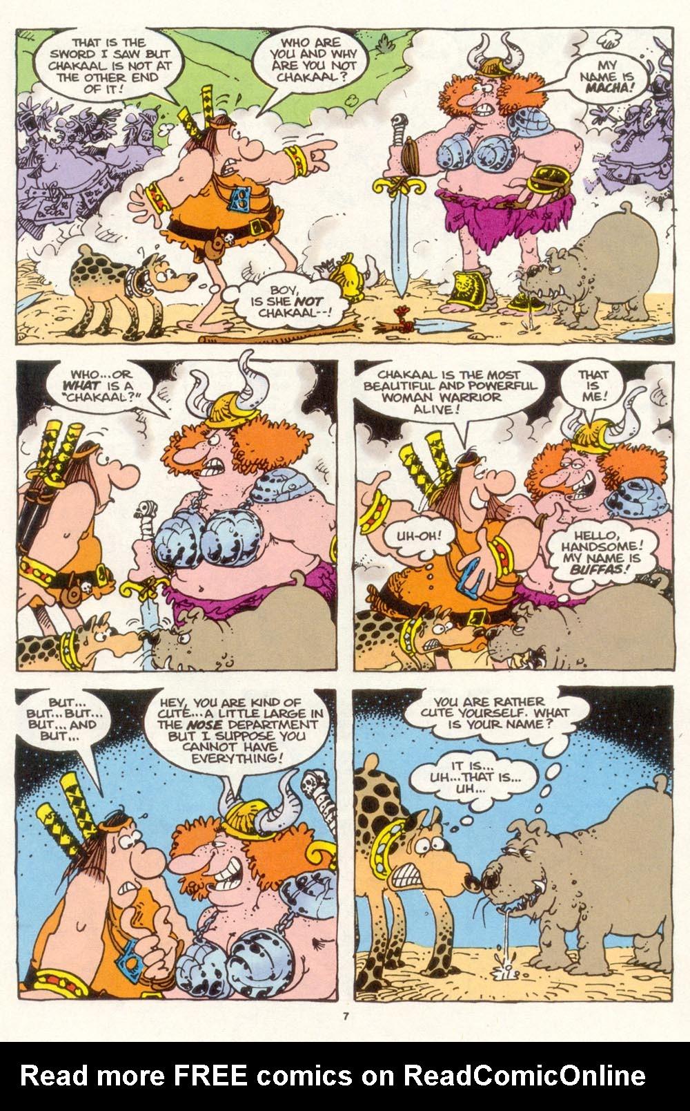 Read online Sergio Aragonés Groo the Wanderer comic -  Issue #117 - 9