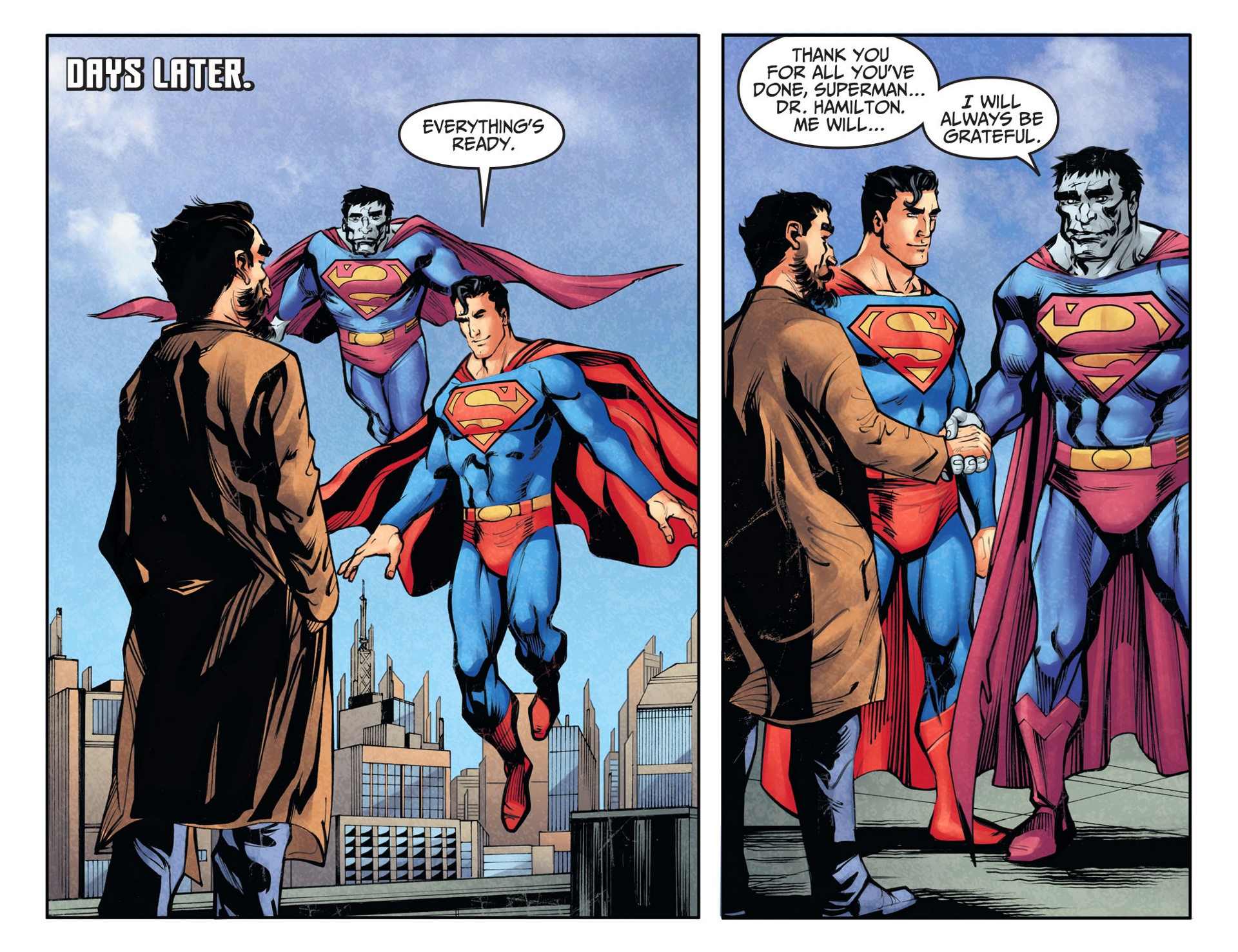 Read online Adventures of Superman [I] comic -  Issue #27 - 15
