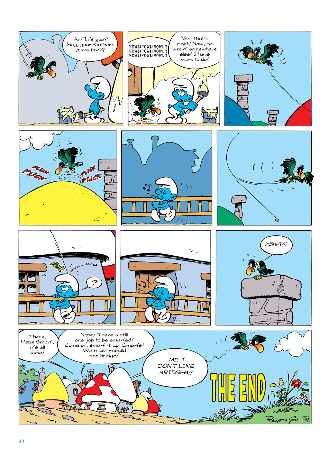 Read online The Smurfs comic -  Issue #6 - 44