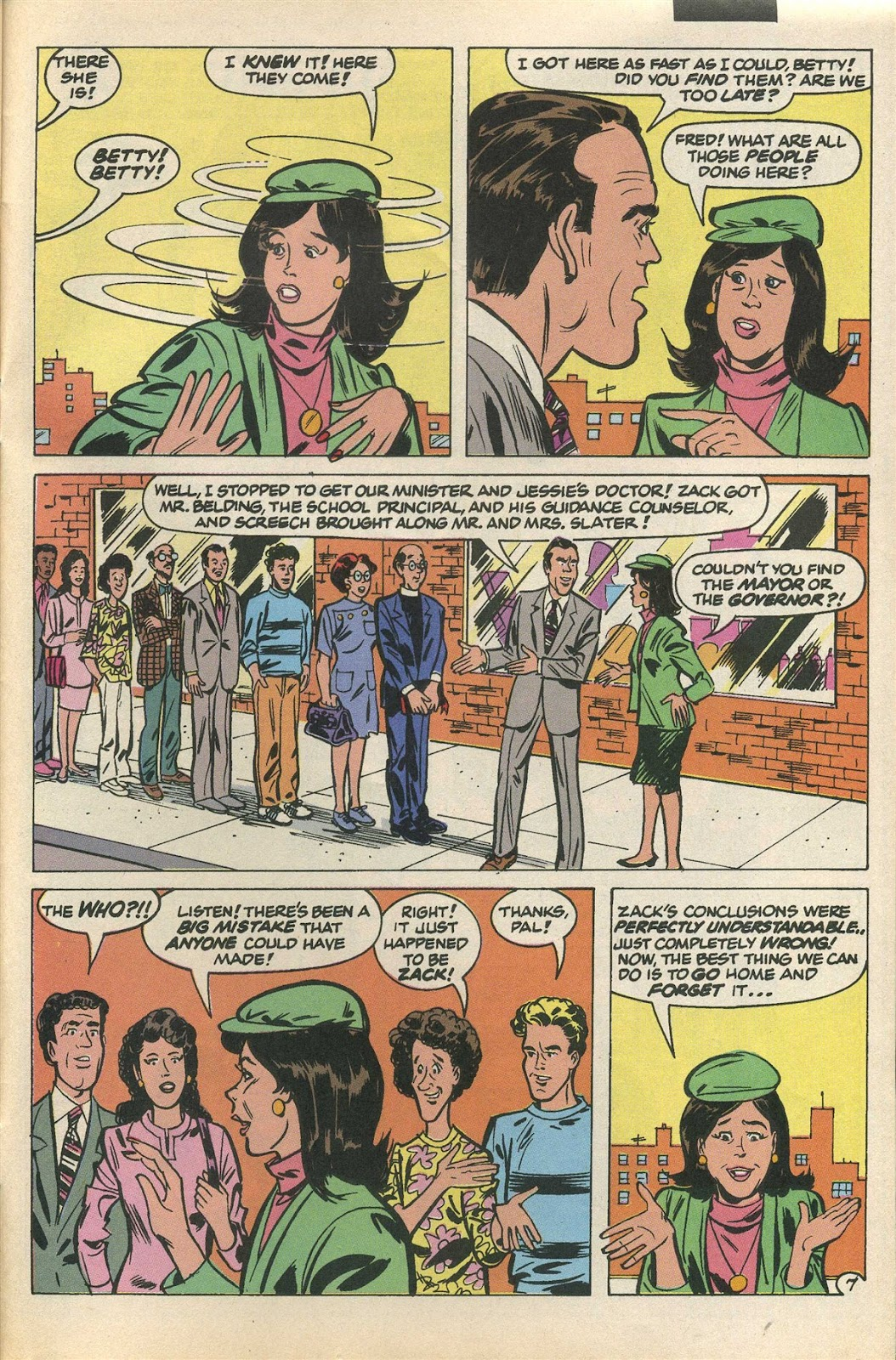 Read online Saved By The Bell comic -  Issue #3 - 28