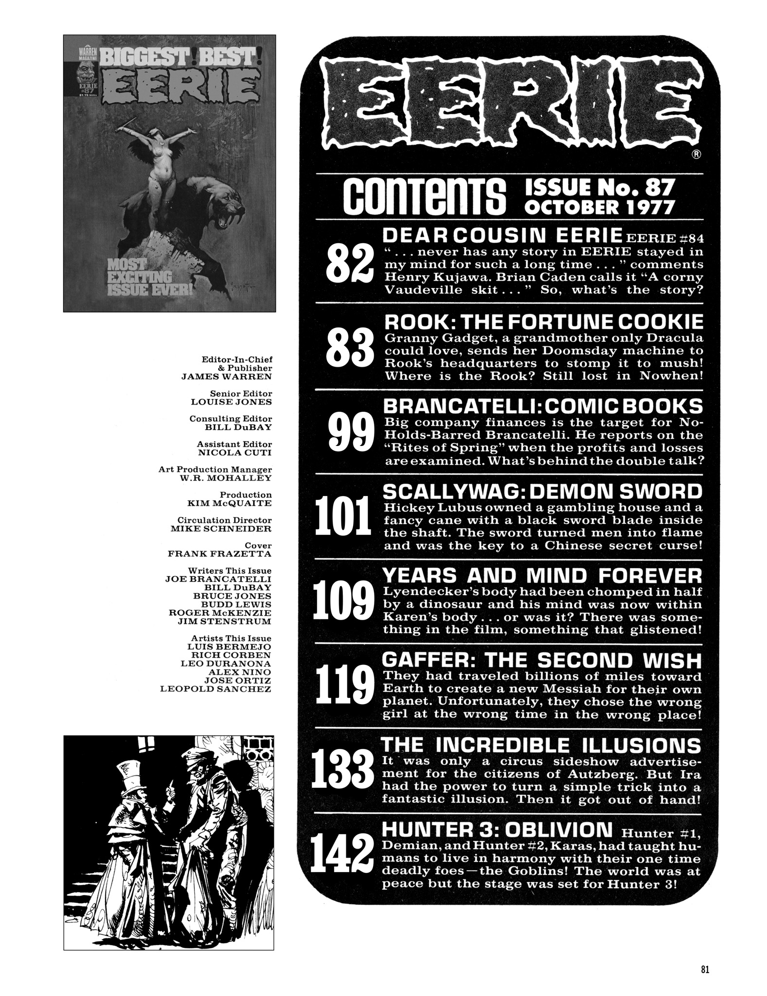 Read online Eerie Archives comic -  Issue # TPB 18 - 82