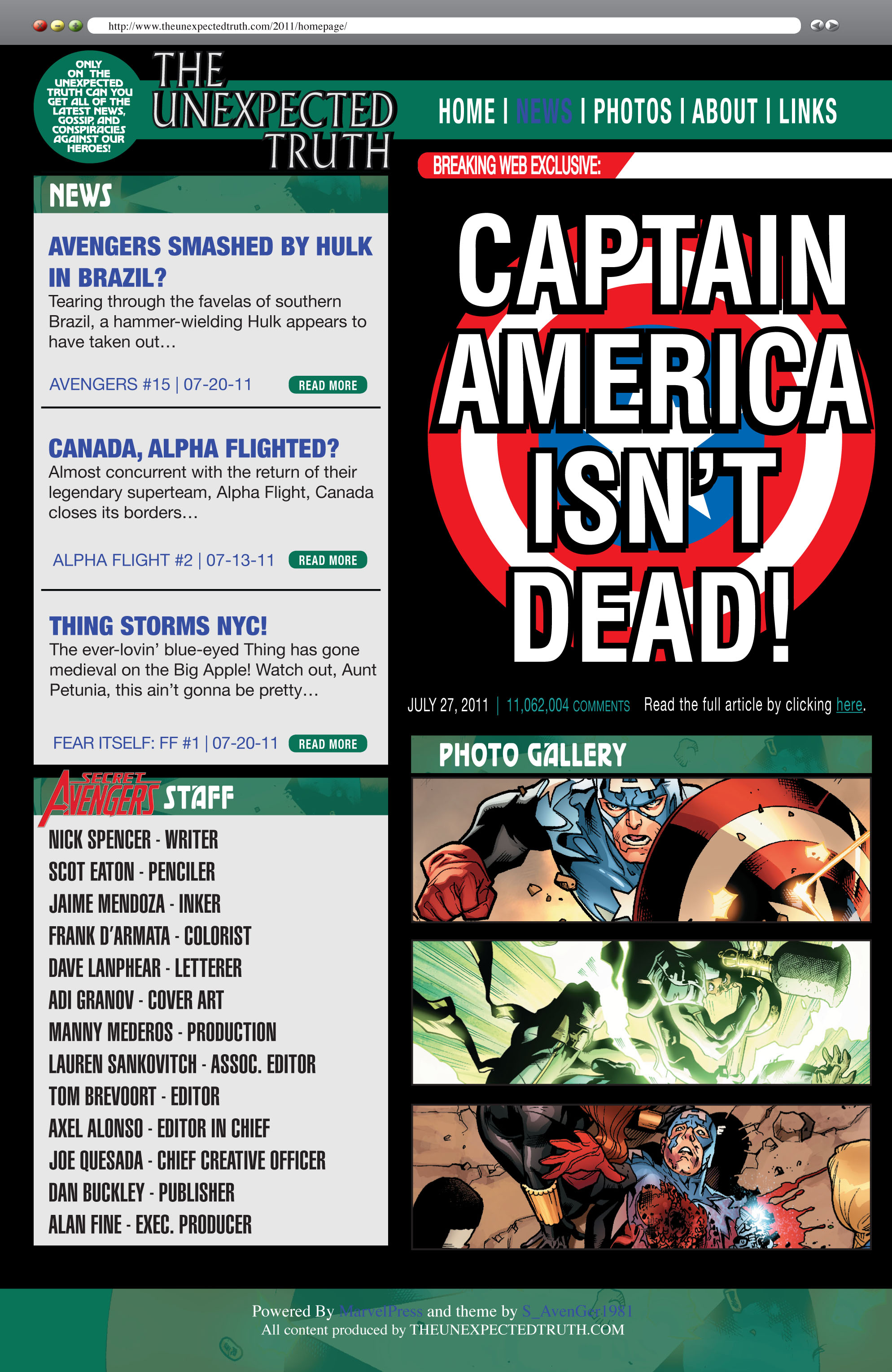 Read online Secret Avengers (2010) comic -  Issue #15 - 2