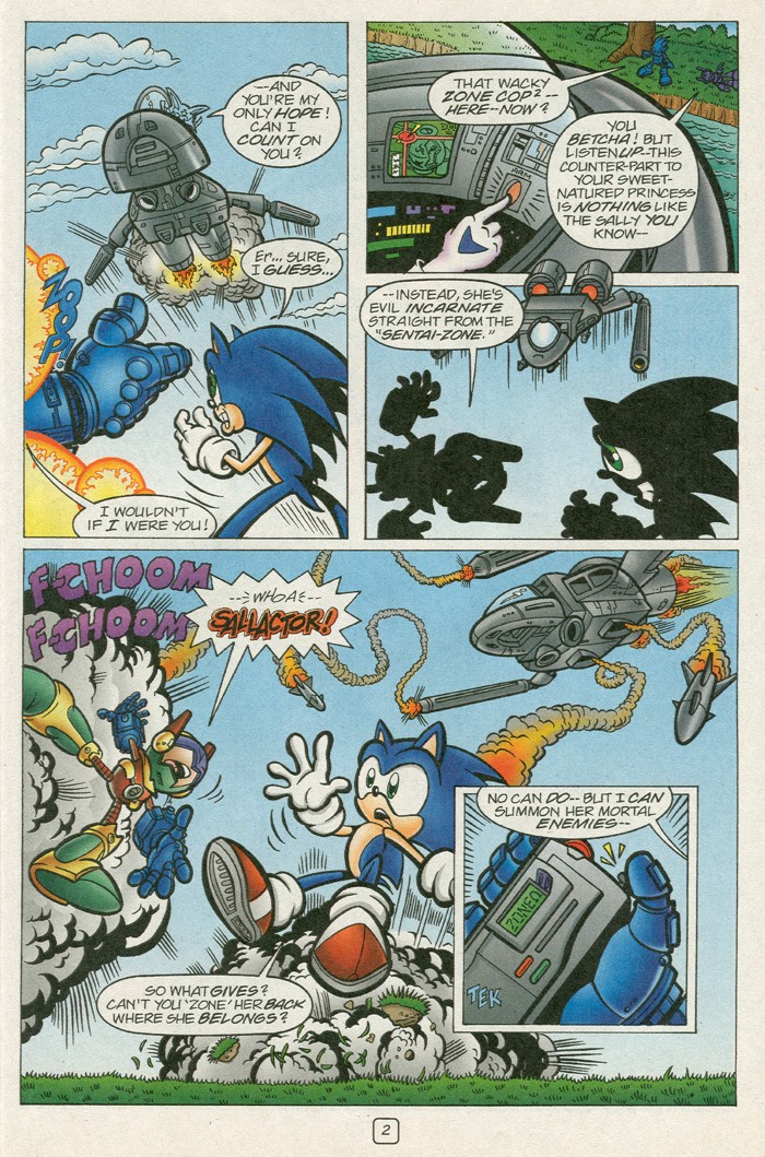 Read online Sonic Super Special comic -  Issue #12 - Sonic and Knuckles visa versa - 19