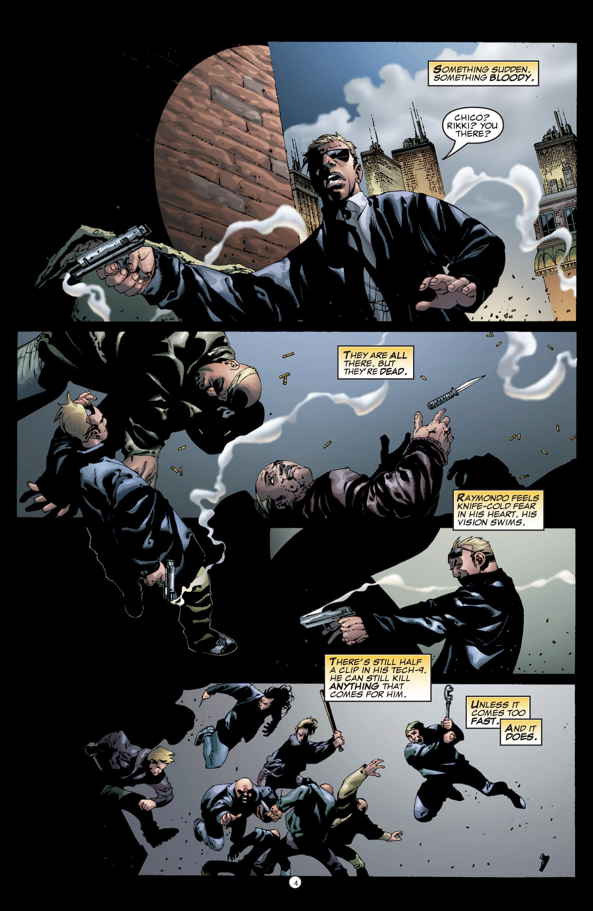 Read online Shadowman (1999) comic -  Issue #5 - 6