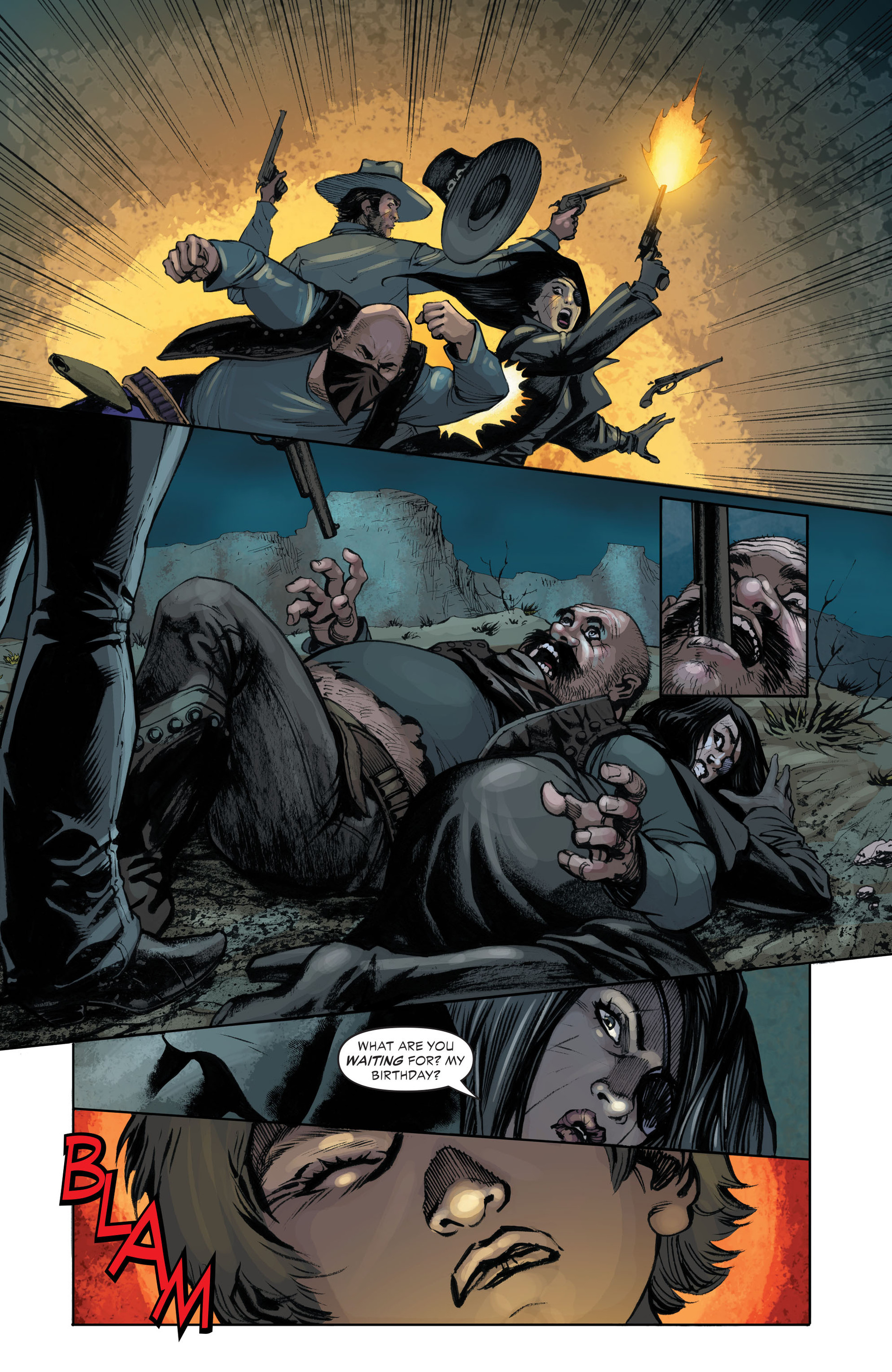 Read online All-Star Western (2011) comic -  Issue #33 - 15