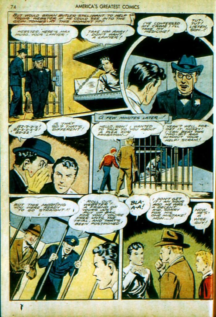 Read online America's Greatest Comics comic -  Issue #4 - 75