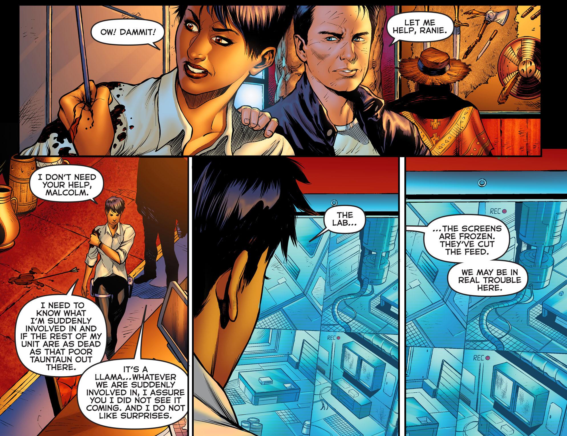 Read online Arrow: The Dark Archer comic -  Issue #2 - 6