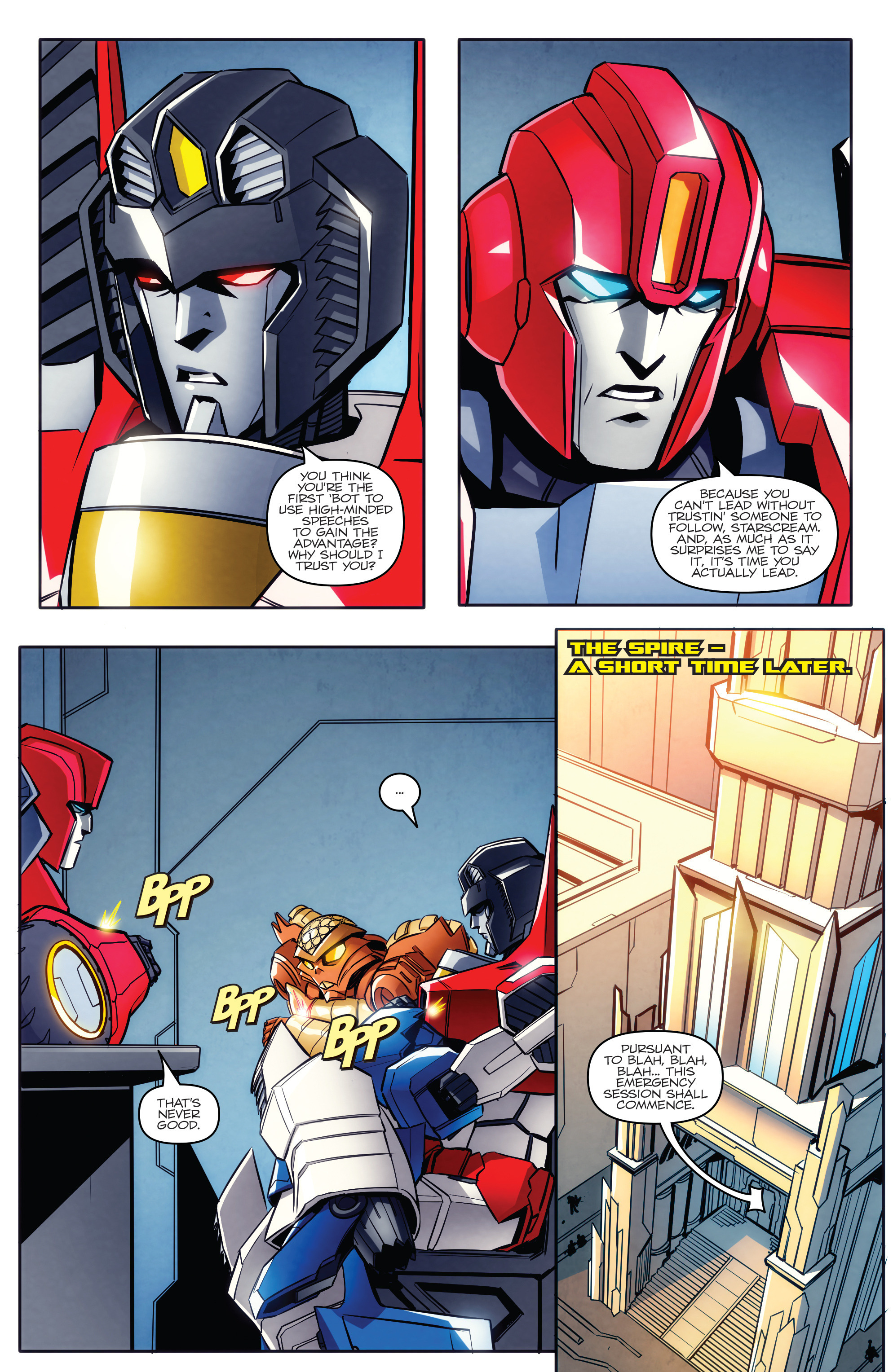 Read online Transformers: Till All Are One comic -  Issue #5 - 8