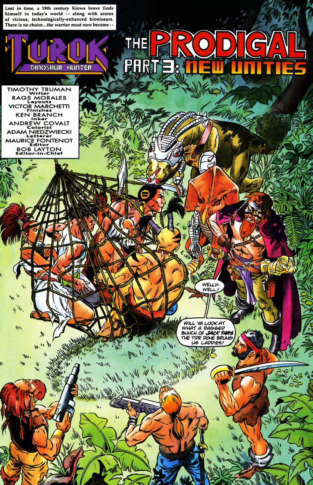 Read online Turok, Dinosaur Hunter (1993) comic -  Issue #26 - 2