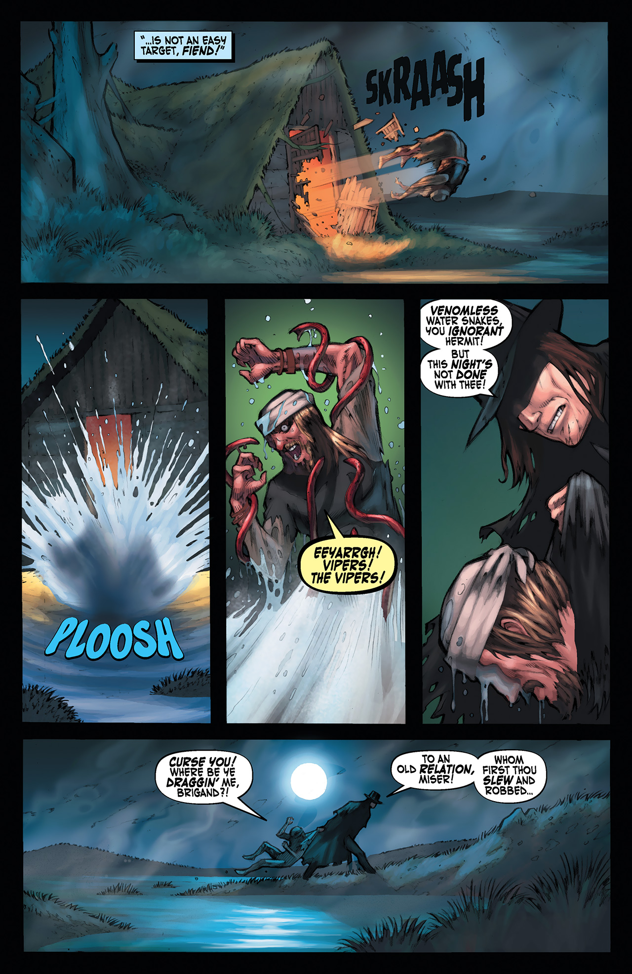 Read online Solomon Kane: Red Shadows comic -  Issue #1 - 22