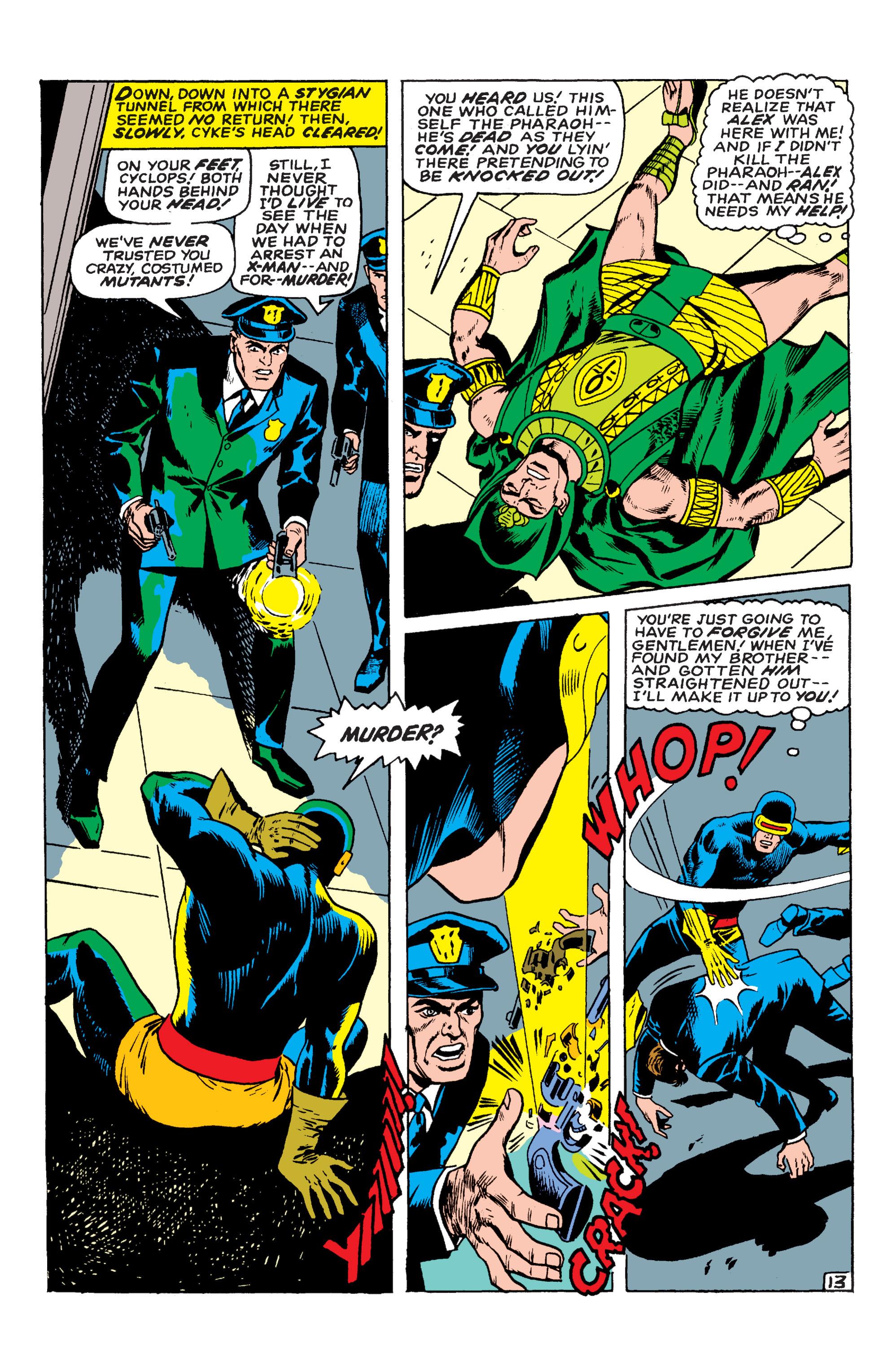 Read online Uncanny X-Men (1963) comic -  Issue #54 - 14