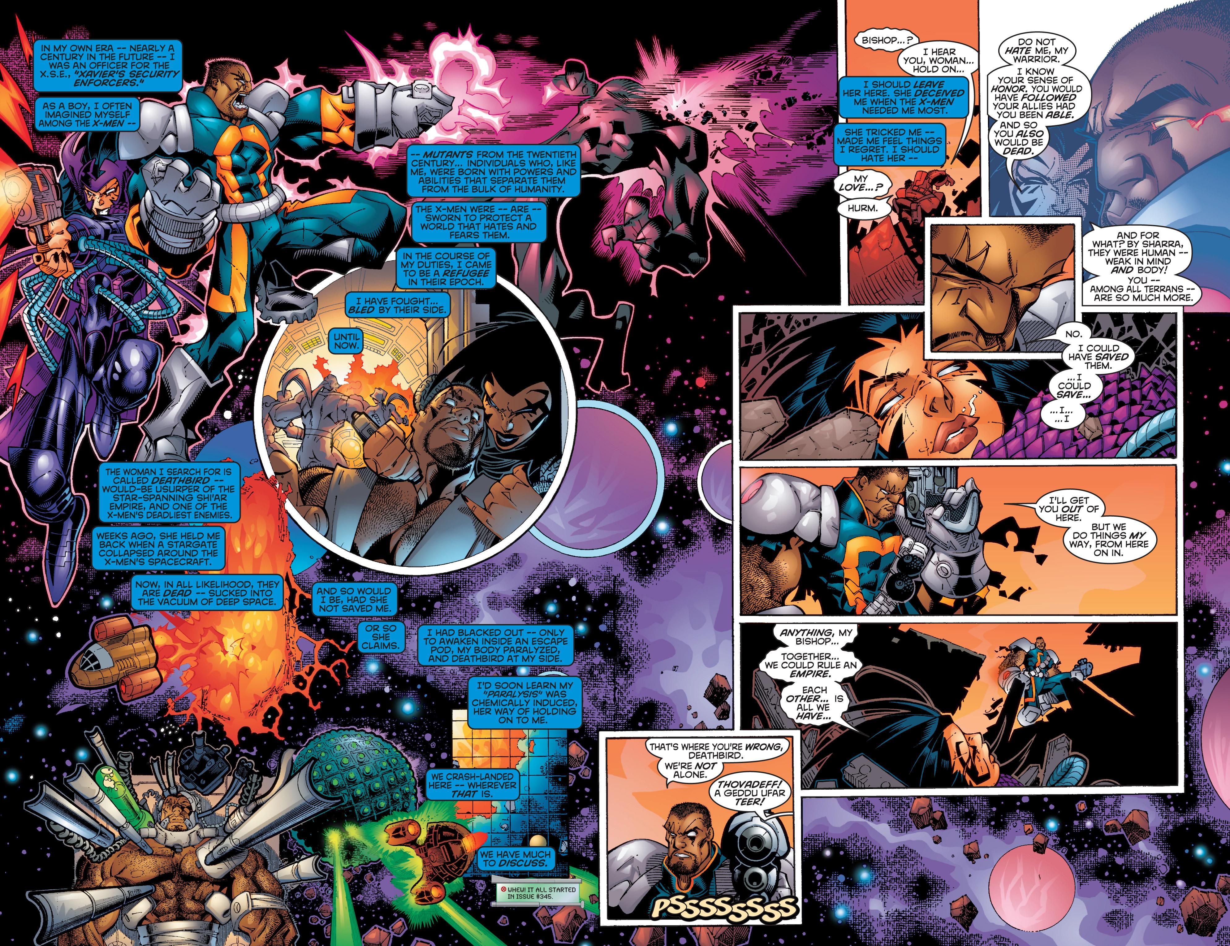 Read online Uncanny X-Men (1963) comic -  Issue #358 - 3