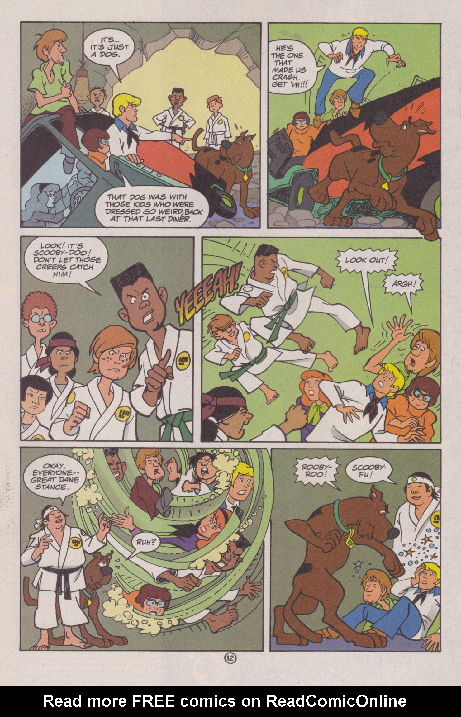 Read online Scooby-Doo (1997) comic -  Issue #8 - 13