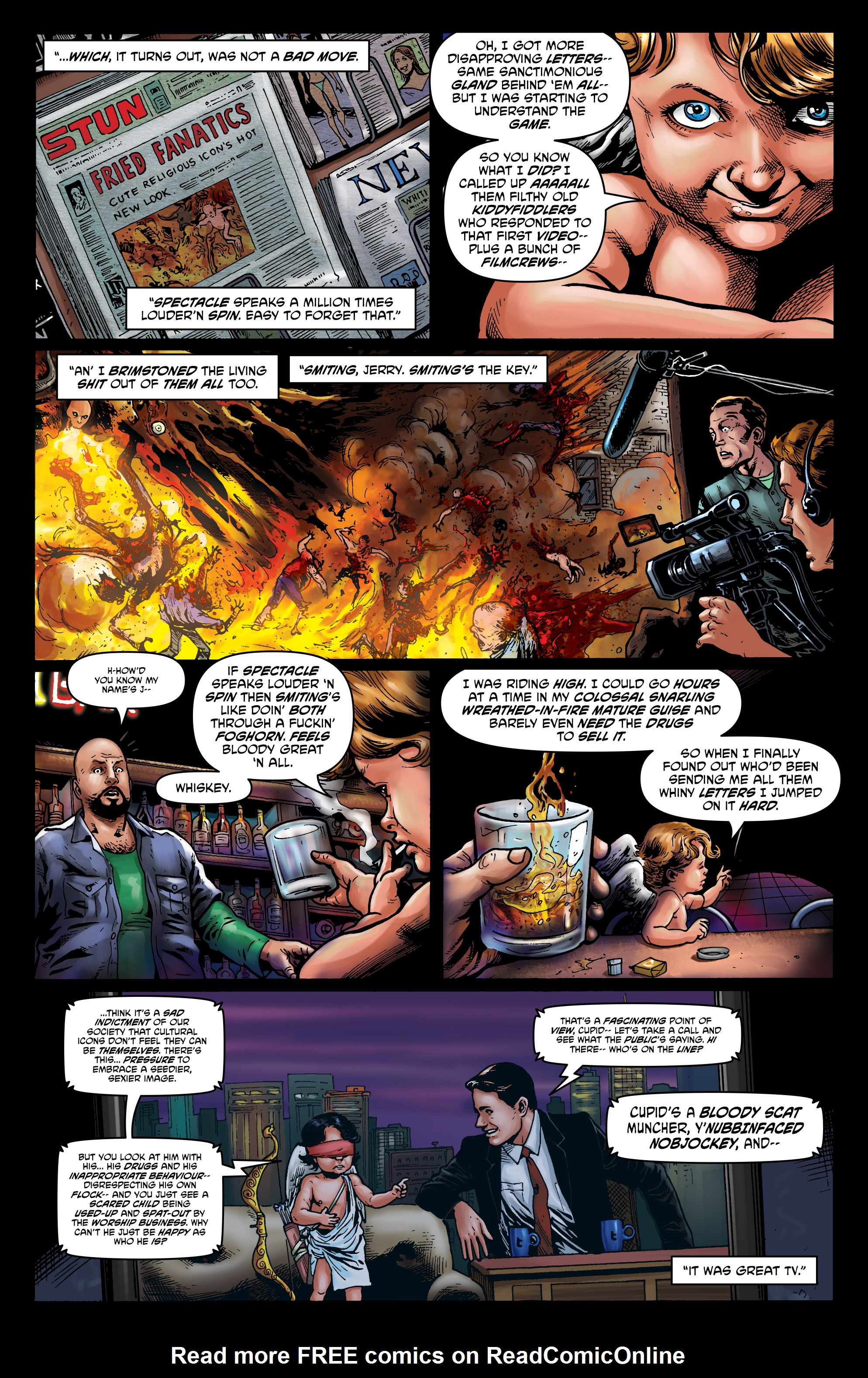 Read online God is Dead: Book of Acts comic -  Issue # Alpha - 43