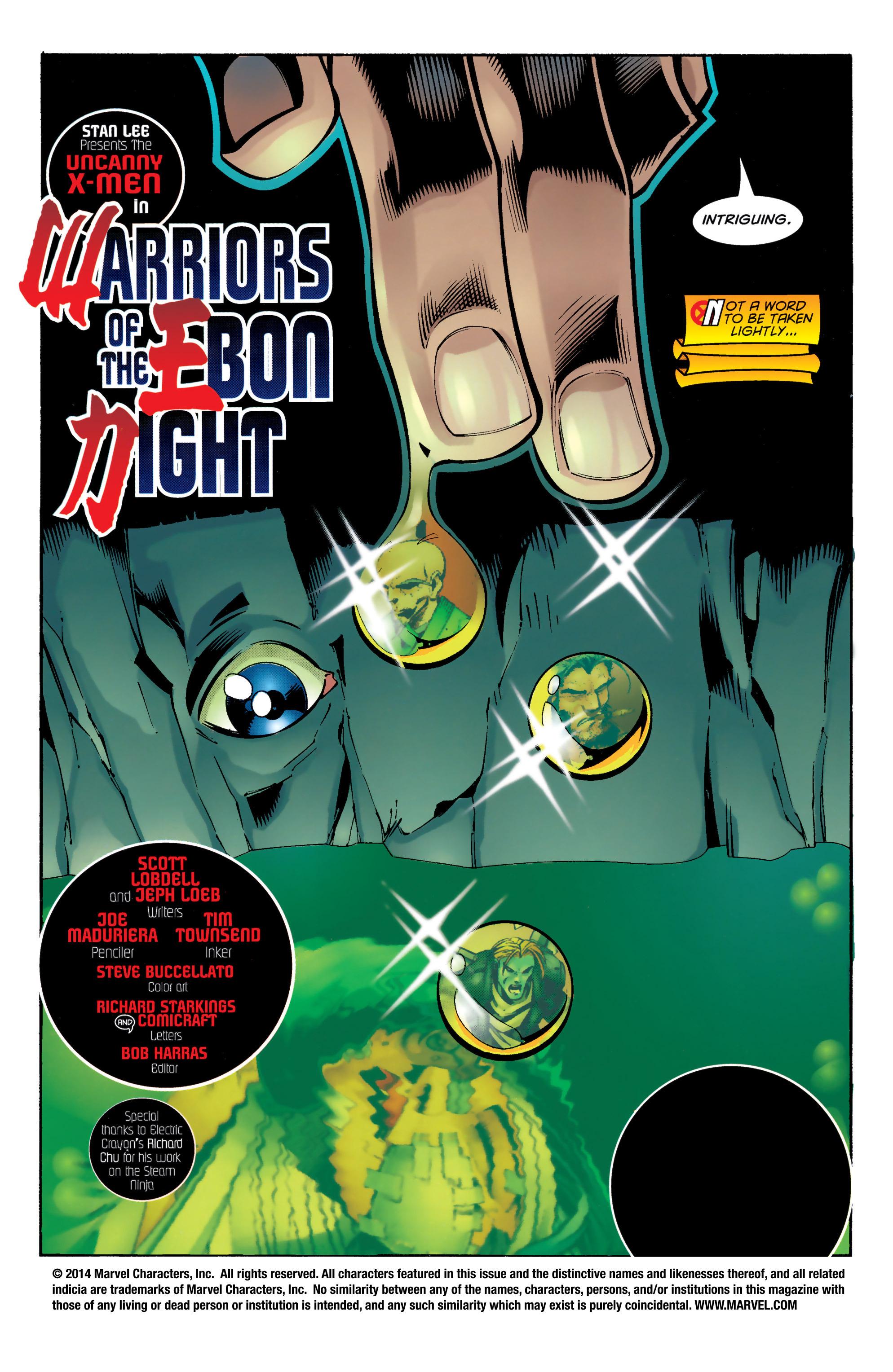 Read online Uncanny X-Men (1963) comic -  Issue #329 - 2