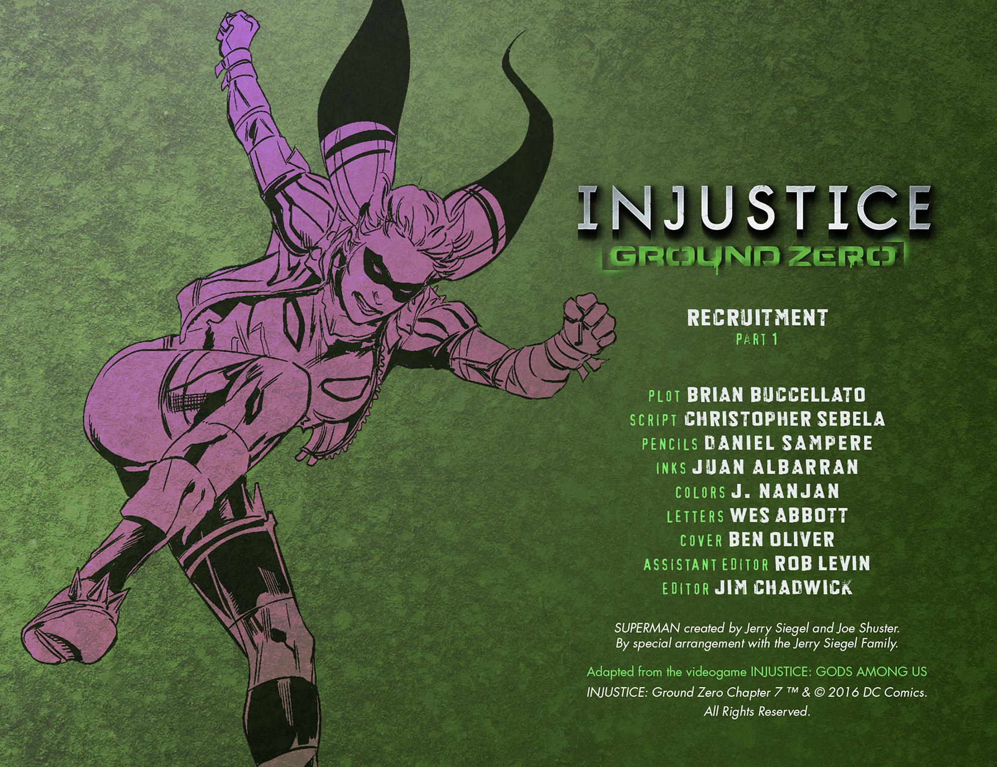 Read online Injustice: Ground Zero comic -  Issue #7 - 3
