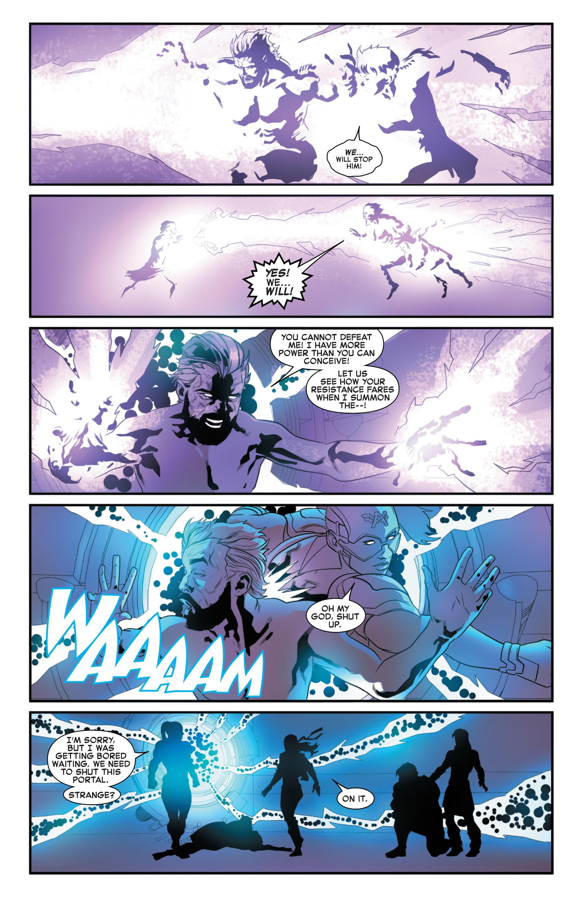 Read online Secret Wars 2099 comic -  Issue #5 - 13