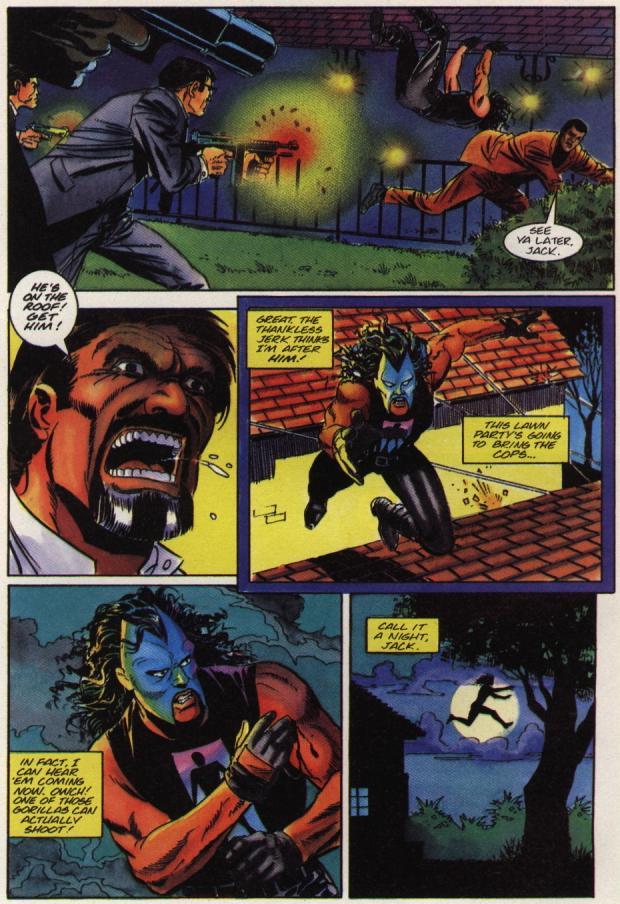 Read online Shadowman (1992) comic -  Issue #36 - 5