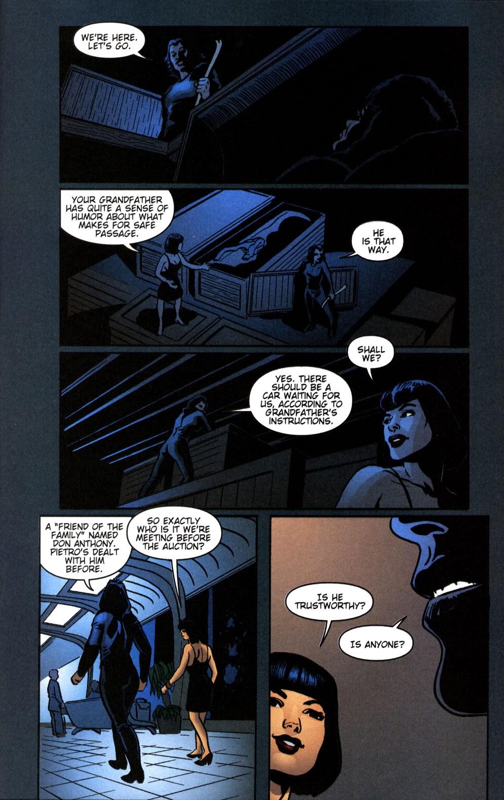 Read online Vampire the Masquerade comic -  Issue # Giovanni - 17