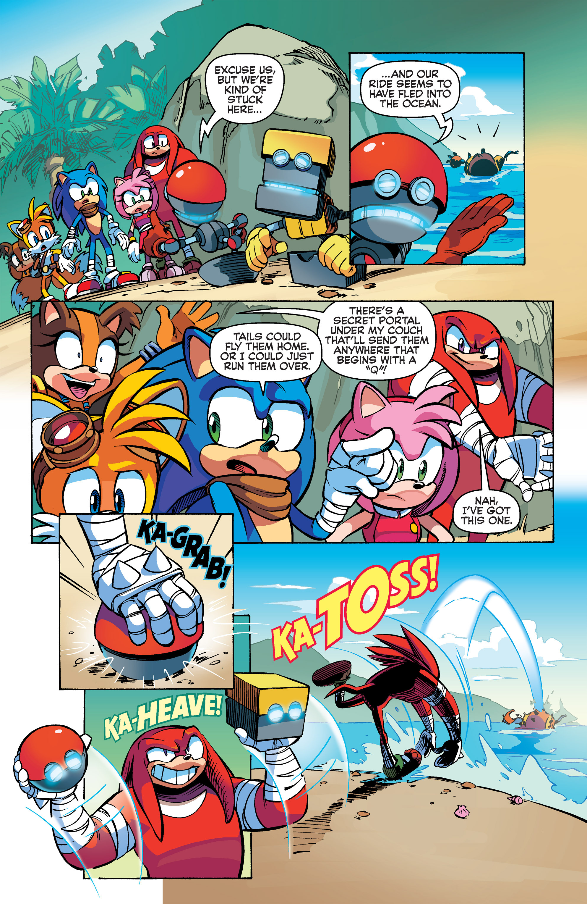 Read online Sonic Boom comic -  Issue #2 - 20